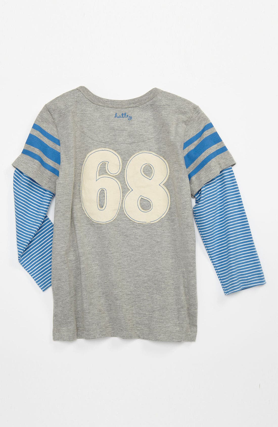 Alternate Image 2  - Hatley 'Fire Department Softball' T-Shirt (Toddler)