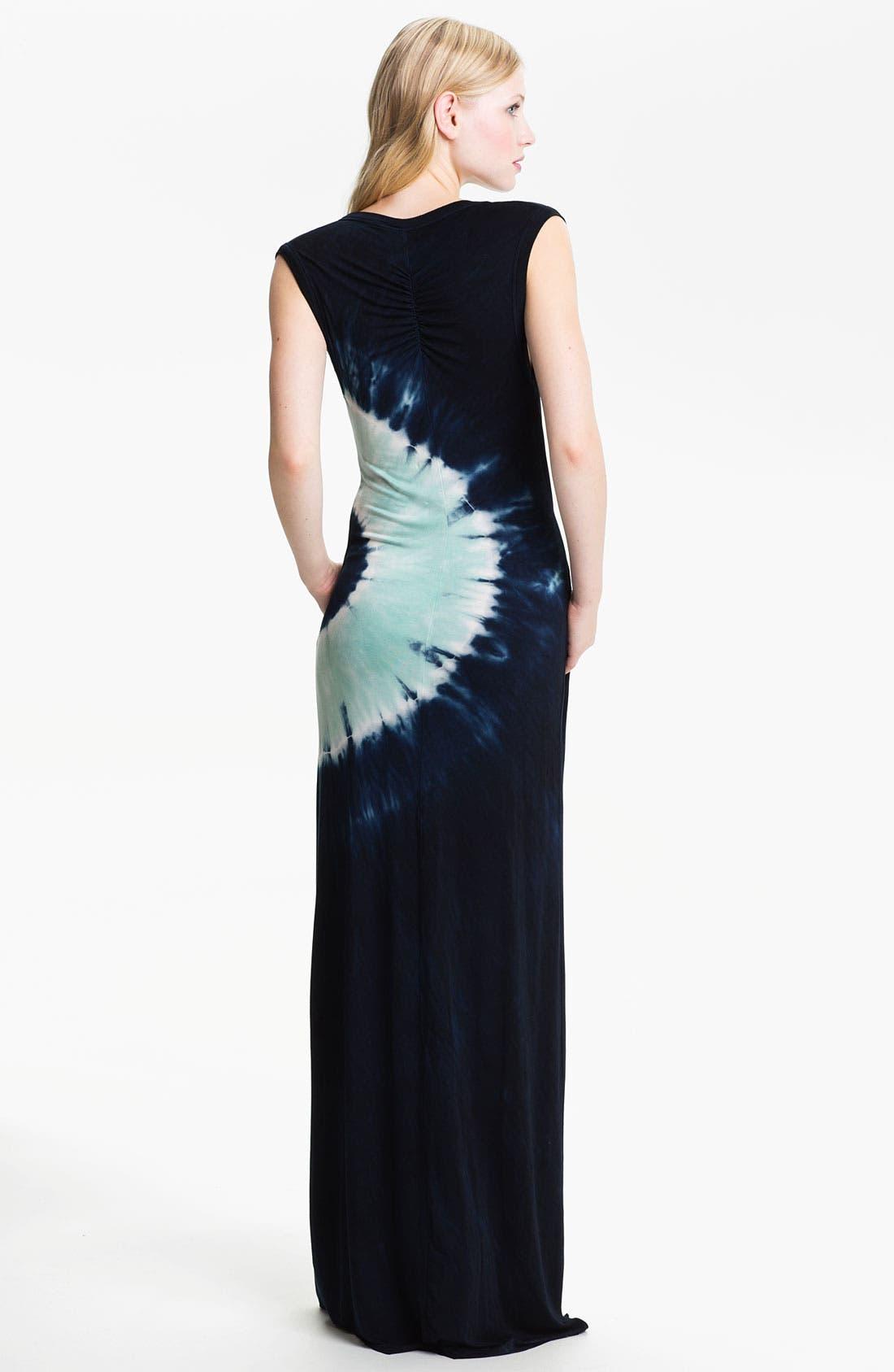 Alternate Image 2  - Young, Fabulous & Broke 'Yoka' Tie Dye Maxi Dress