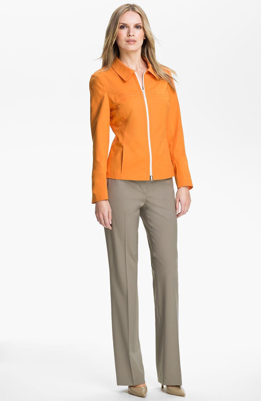 Alternate Image 4  - Lafayette 148 New York 'Francine Metropolitan Stretch' Jacket