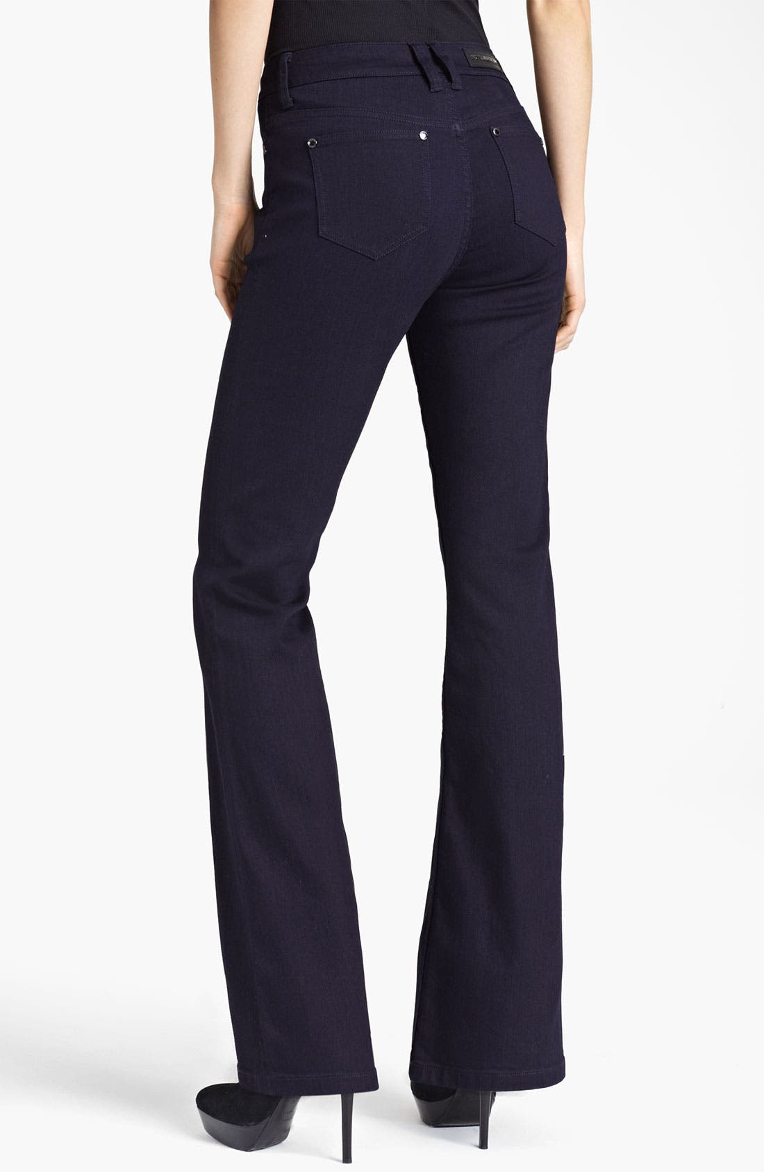 Alternate Image 2  - Burberry London Flared Stretch Jeans