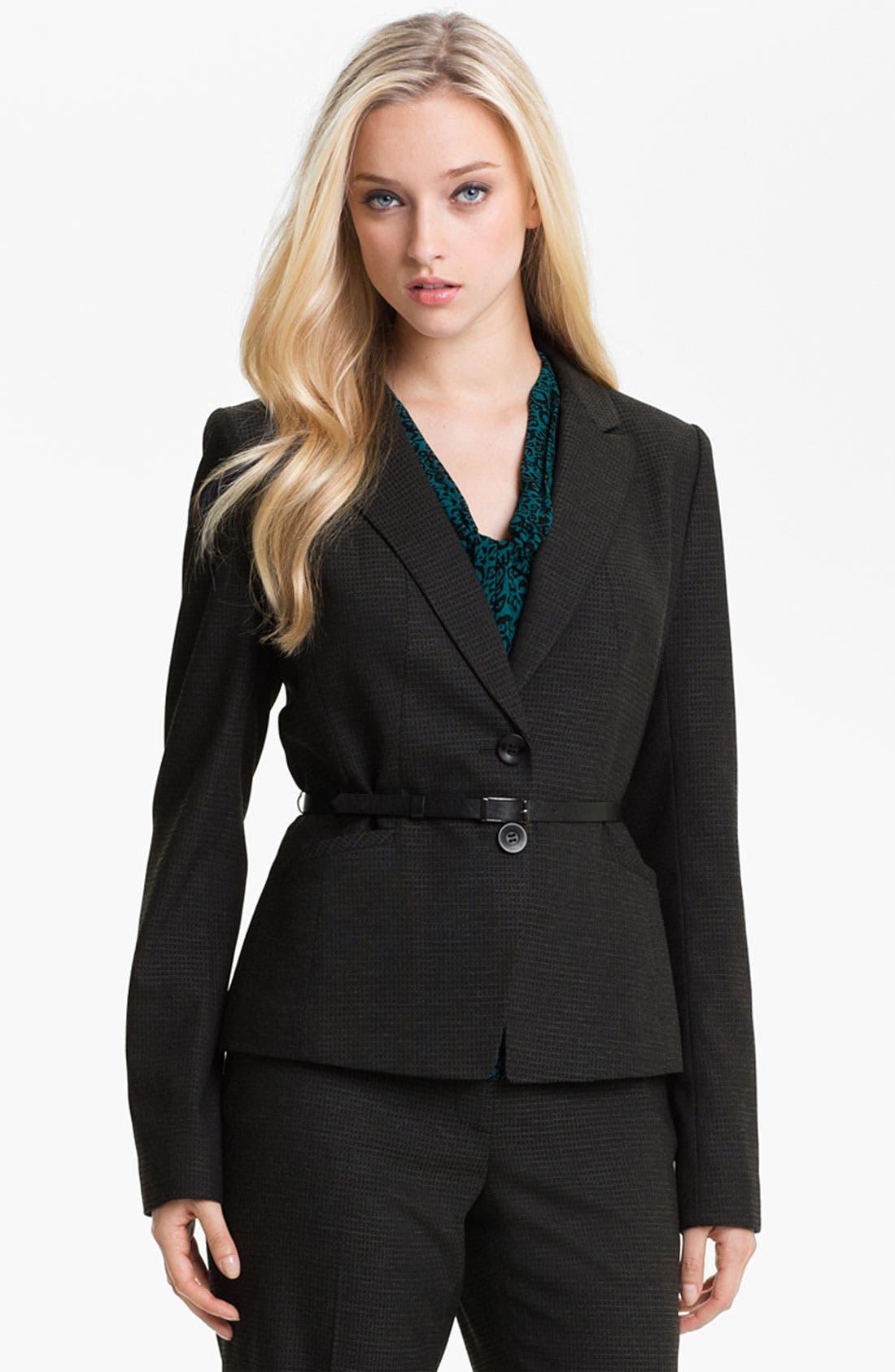 Alternate Image 1 Selected - Classiques Entier® 'Glam Grid' Jacket