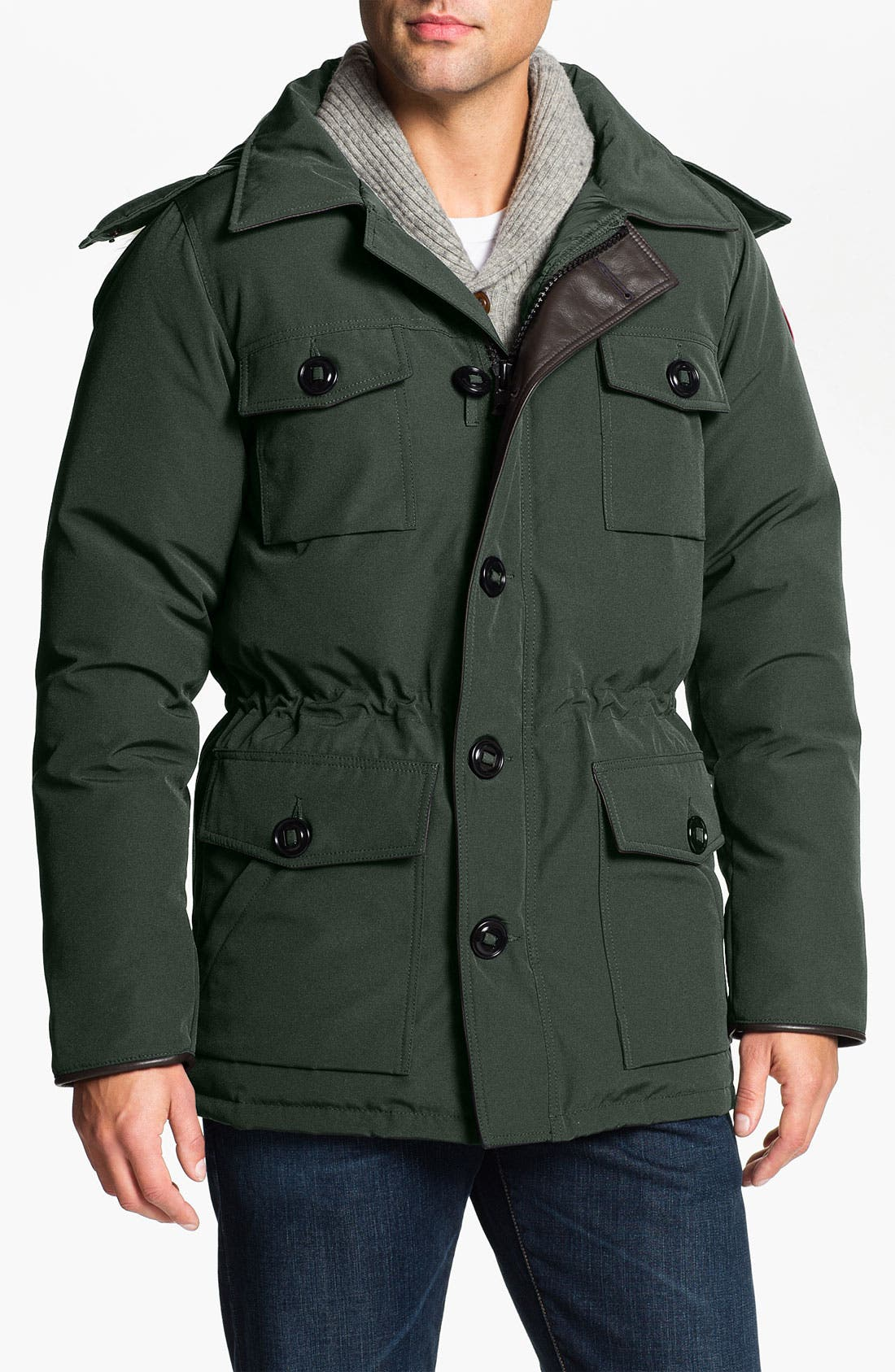 Alternate Image 1 Selected - Canada Goose 'Banff' Parka with Genuine Coyote Fur Trim