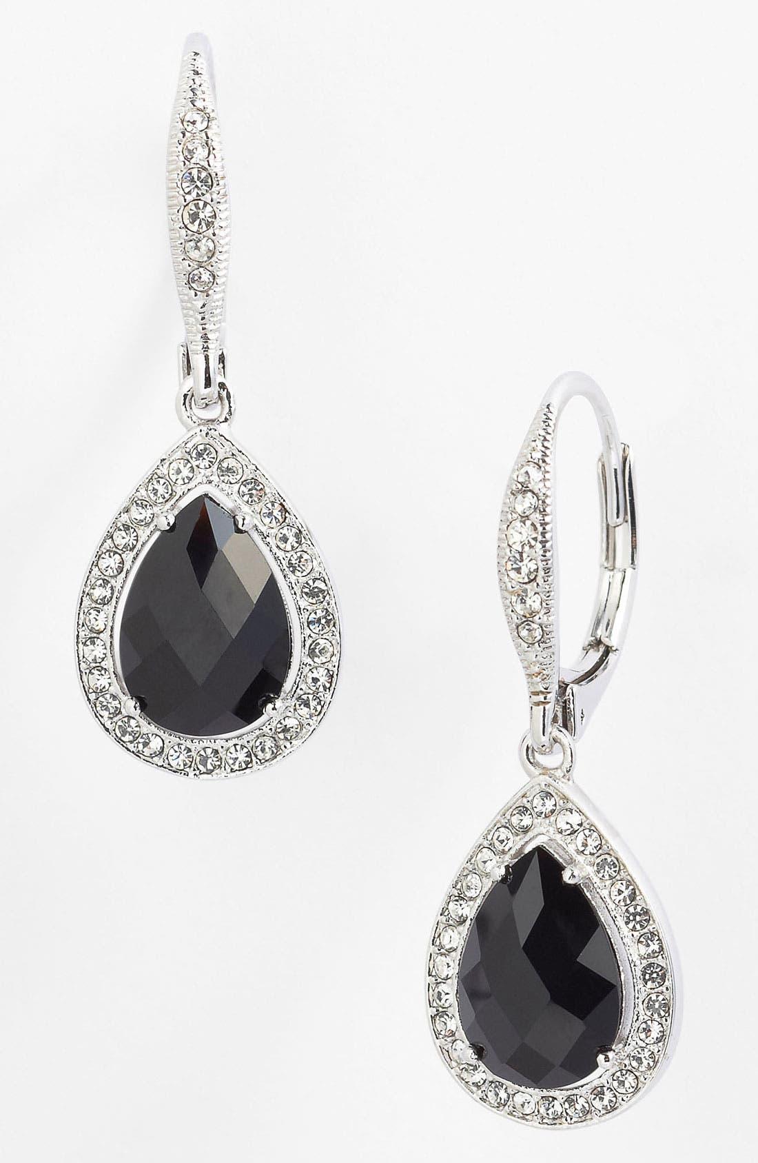 Alternate Image 1 Selected - Nadri Pear Drop Earrings (Nordstrom Exclusive)