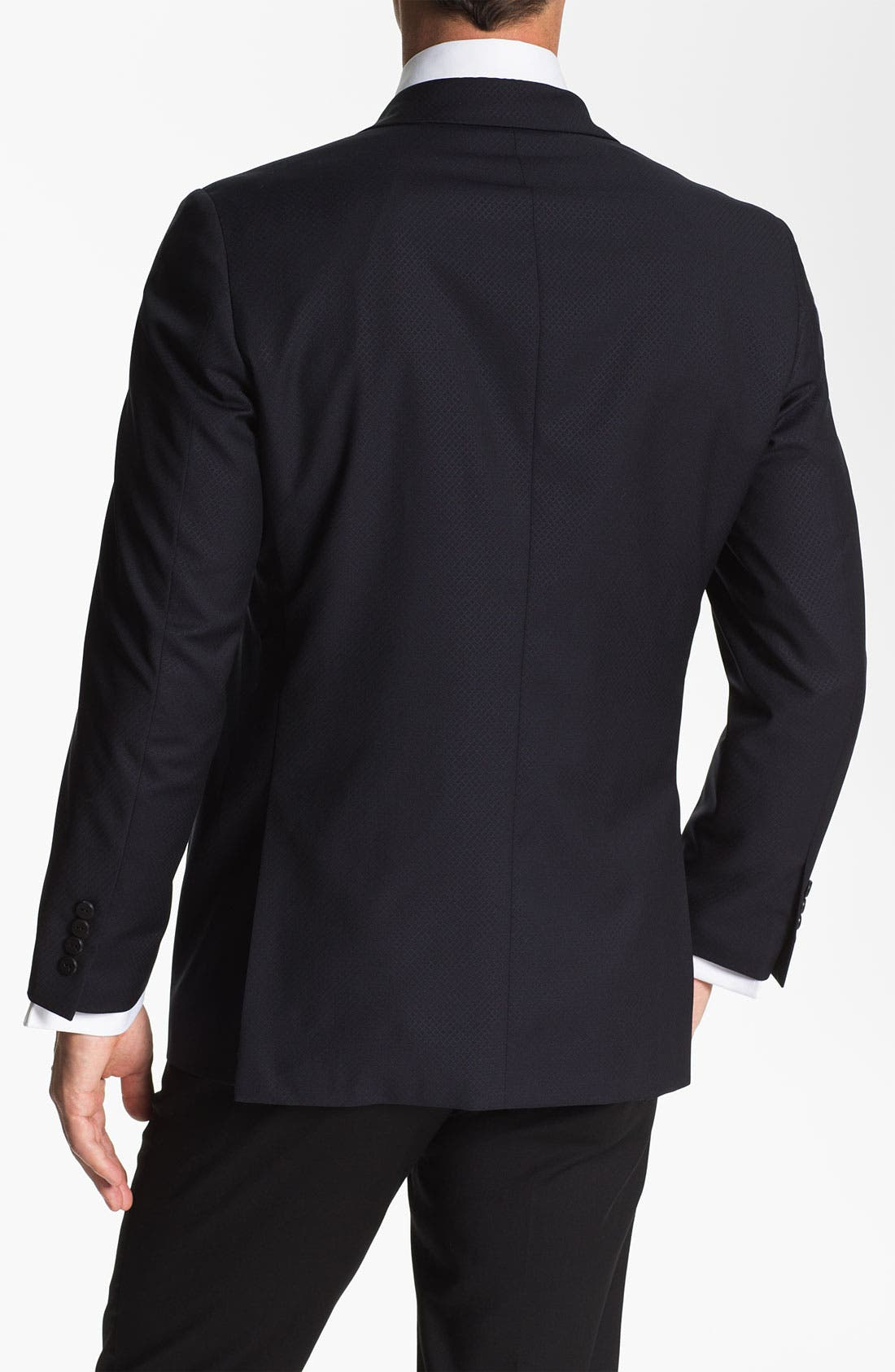 Alternate Image 2  - Samuelsohn Peak Lapel Dinner Jacket