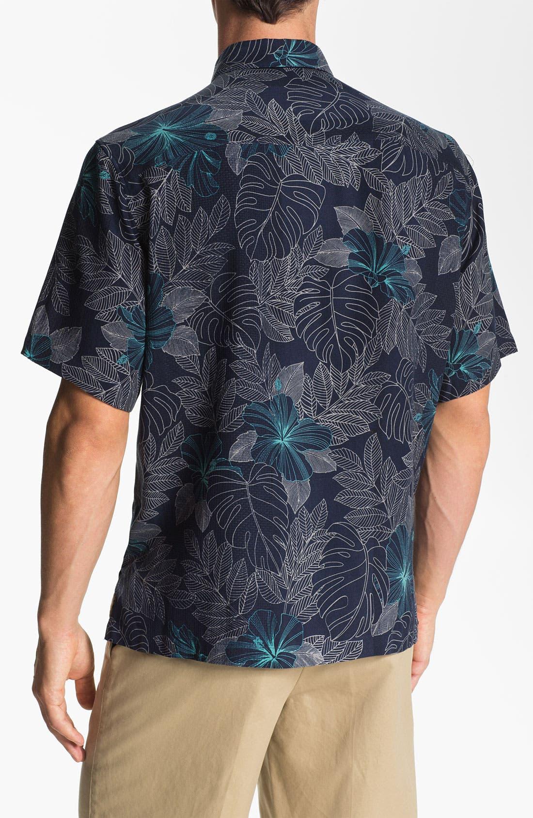 Alternate Image 2  - Tori Richard 'Utopia' Silk Sport Shirt