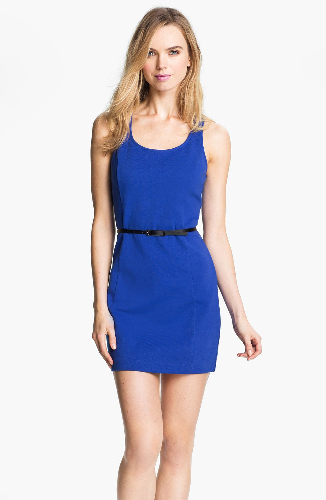 Main Image - Kensie Belted Sheath Dress