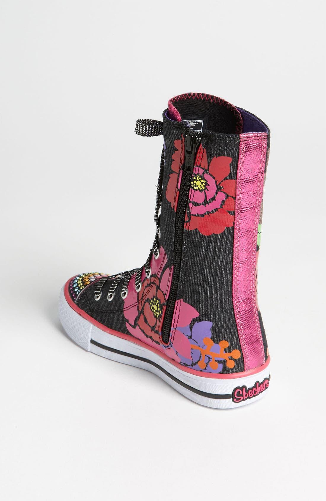 Alternate Image 2  - SKECHERS 'Twinkle Toes - Shuffles Love Stories' Sneaker (Toddler & Little Kid)