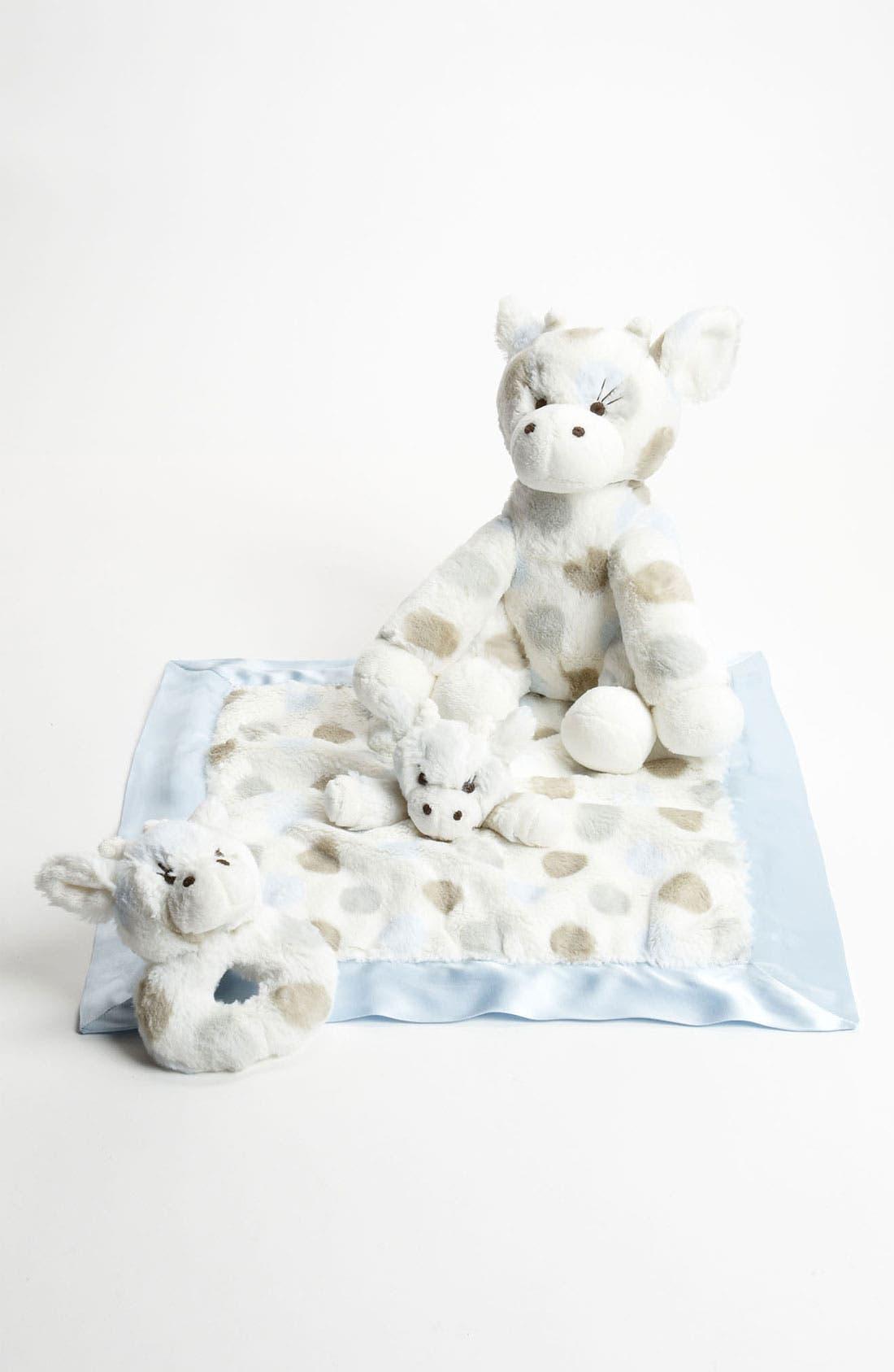 Main Image - Little Giraffe 'Bundled Love' Stuffed Animal & Blanket
