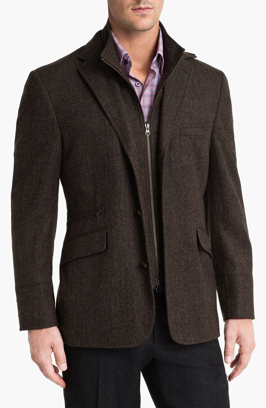 Alternate Image 1 Selected - Kroon 'Ritchie' Wool & Cashmere Sportcoat