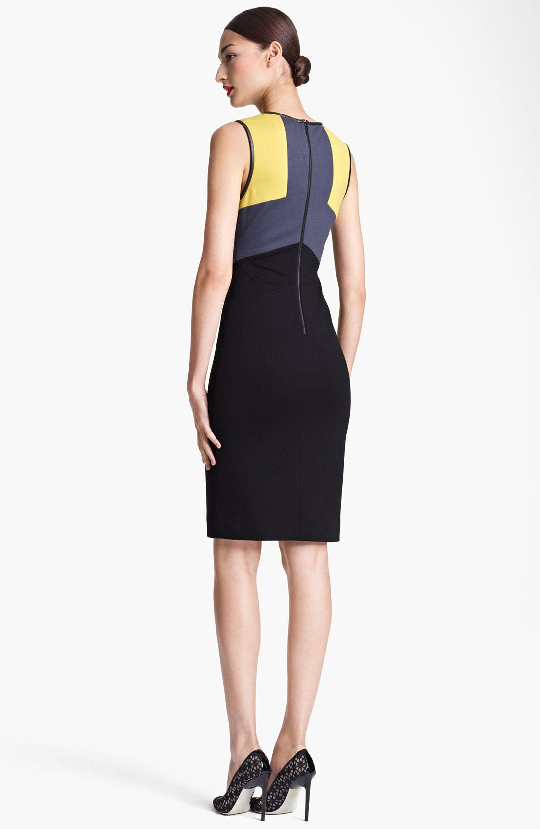 Alternate Image 2  - Jason Wu Colorblock Sheath Dress