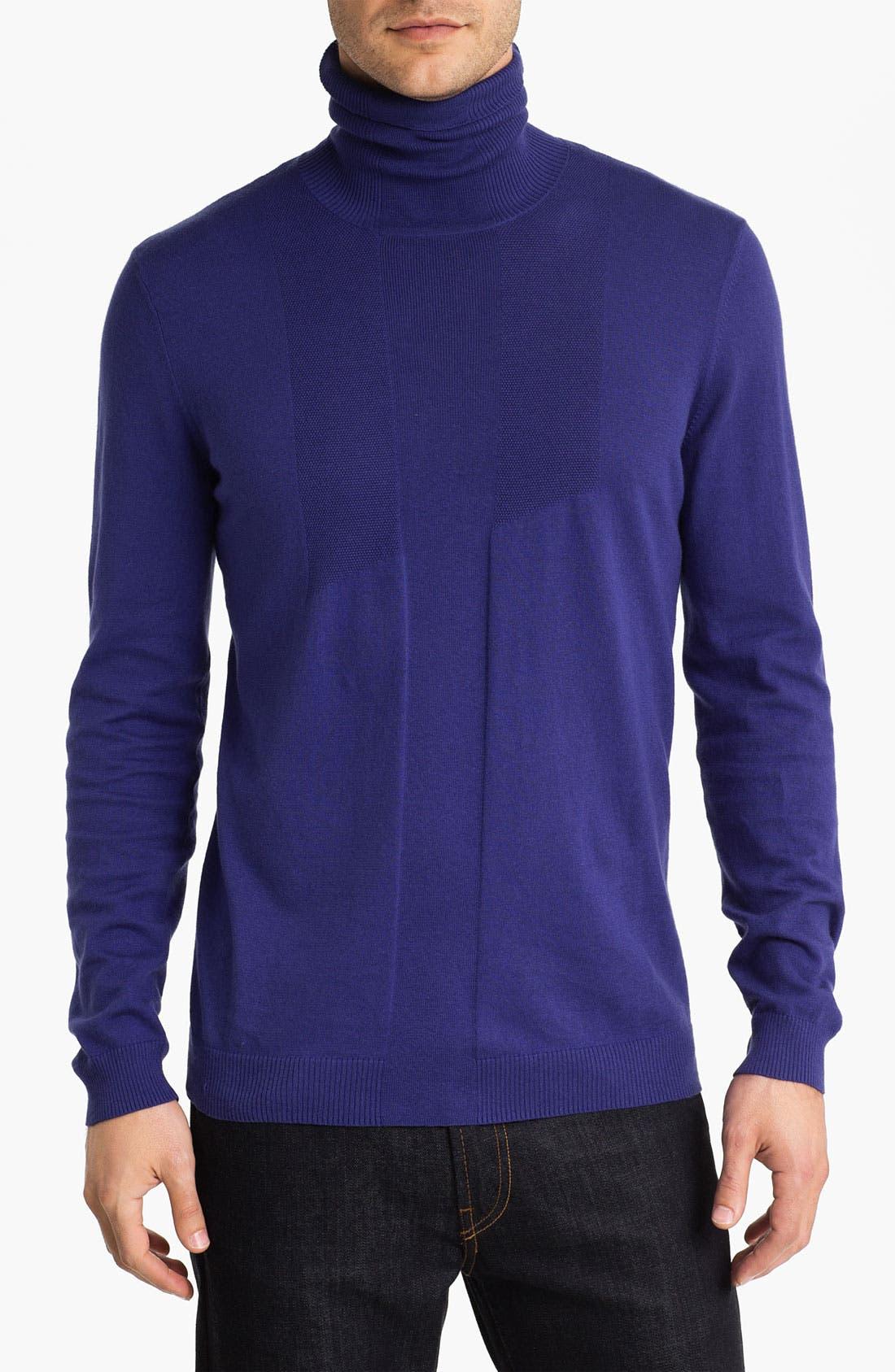 Alternate Image 1 Selected - HUGO 'Storte' Turtleneck Sweater