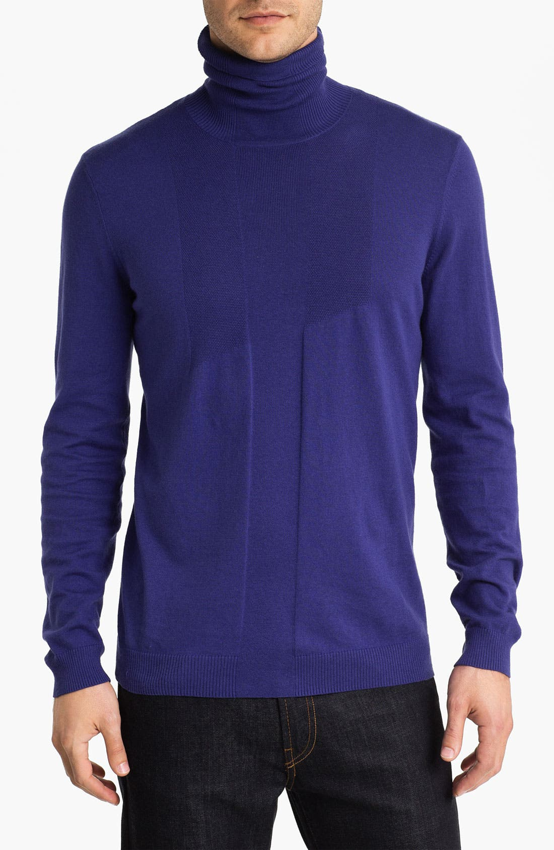 Main Image - HUGO 'Storte' Turtleneck Sweater