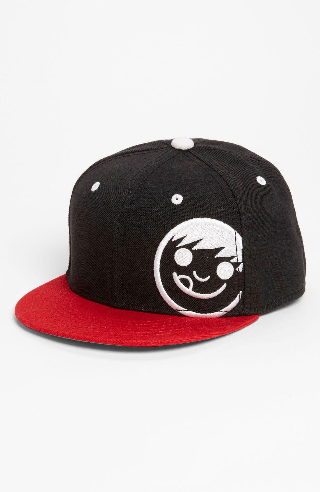 Main Image - Neff Logo Baseball Cap (Big Boys)