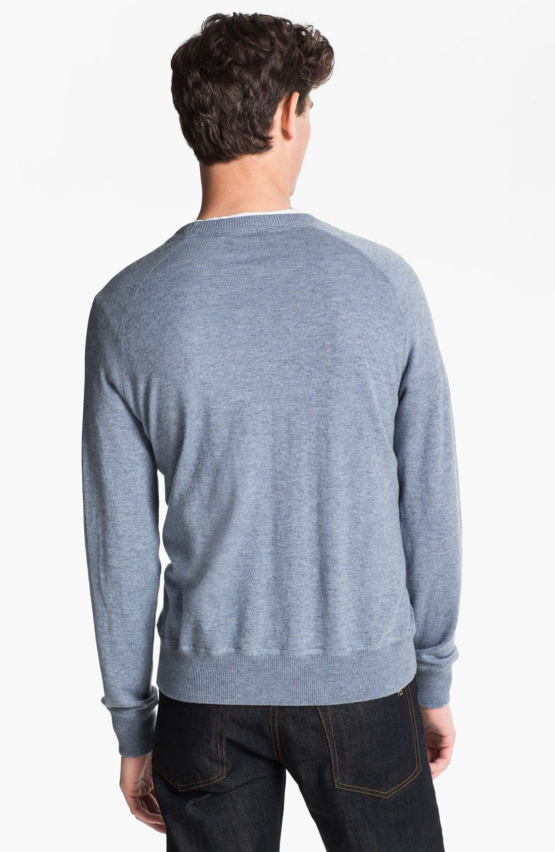 Alternate Image 2  - Cardigan by Lynne Hiriak 'Dean' French Terry Crewneck Sweatshirt