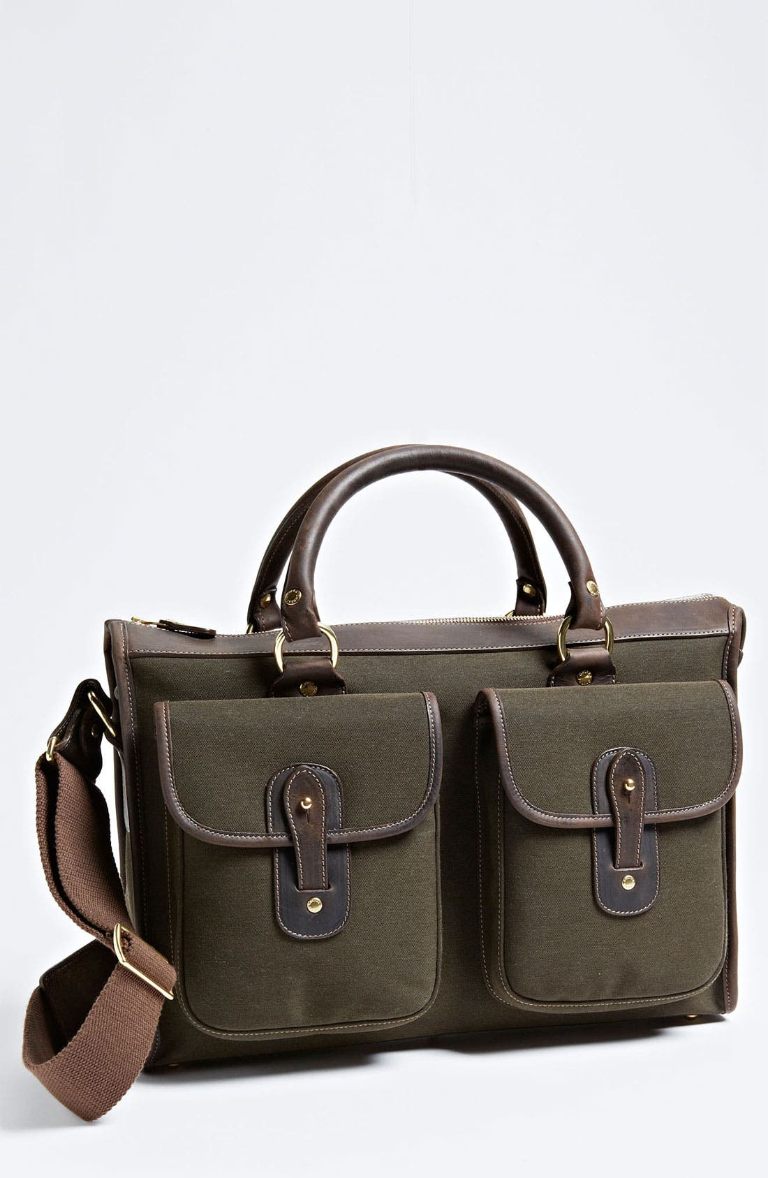Alternate Image 1 Selected - Ghurka 'Examiner' Canvas Twill Briefcase