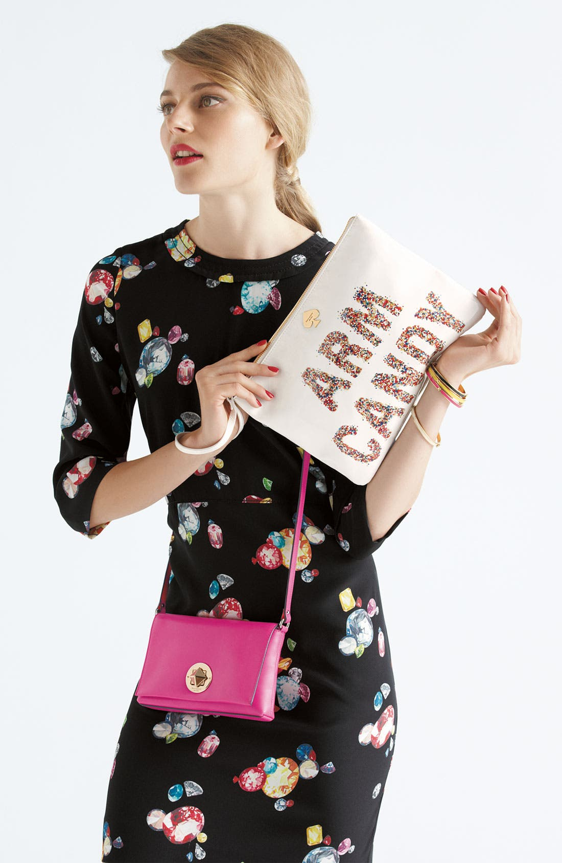 Alternate Image 6  - kate spade new york 'arm candy' leather pouch