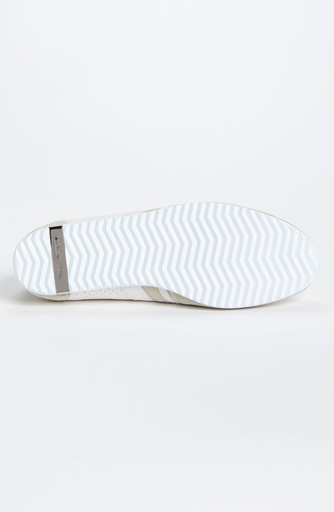 Alternate Image 4  - Dolce&Gabbana Perforated Sneaker