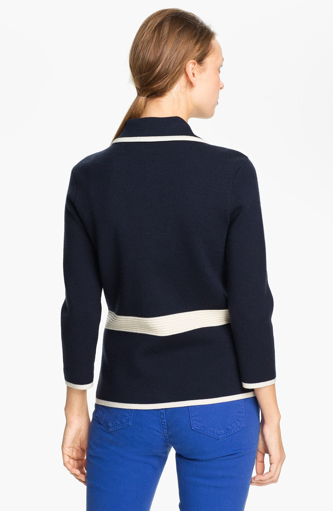 Alternate Image 2  - kate spade new york 'mayson' sweater jacket