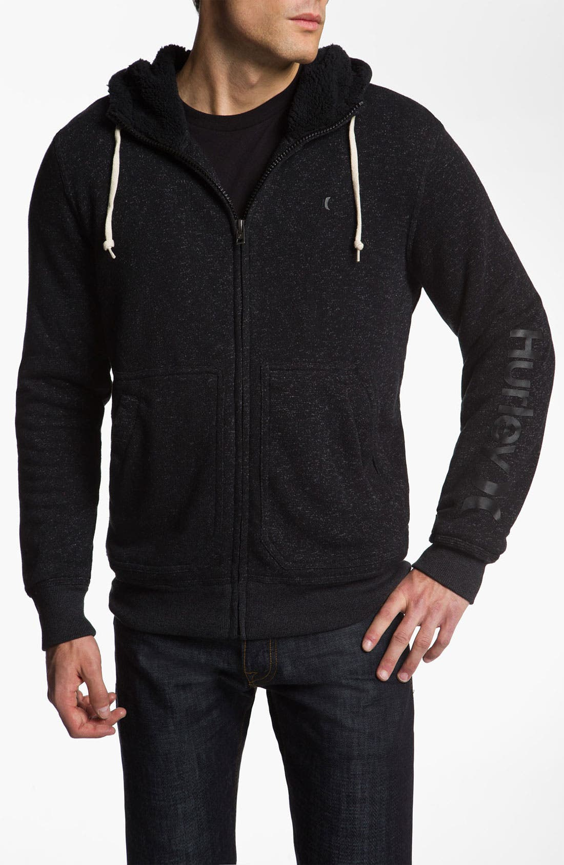 Alternate Image 1 Selected - Hurley 'Retreat' Zip Hoodie