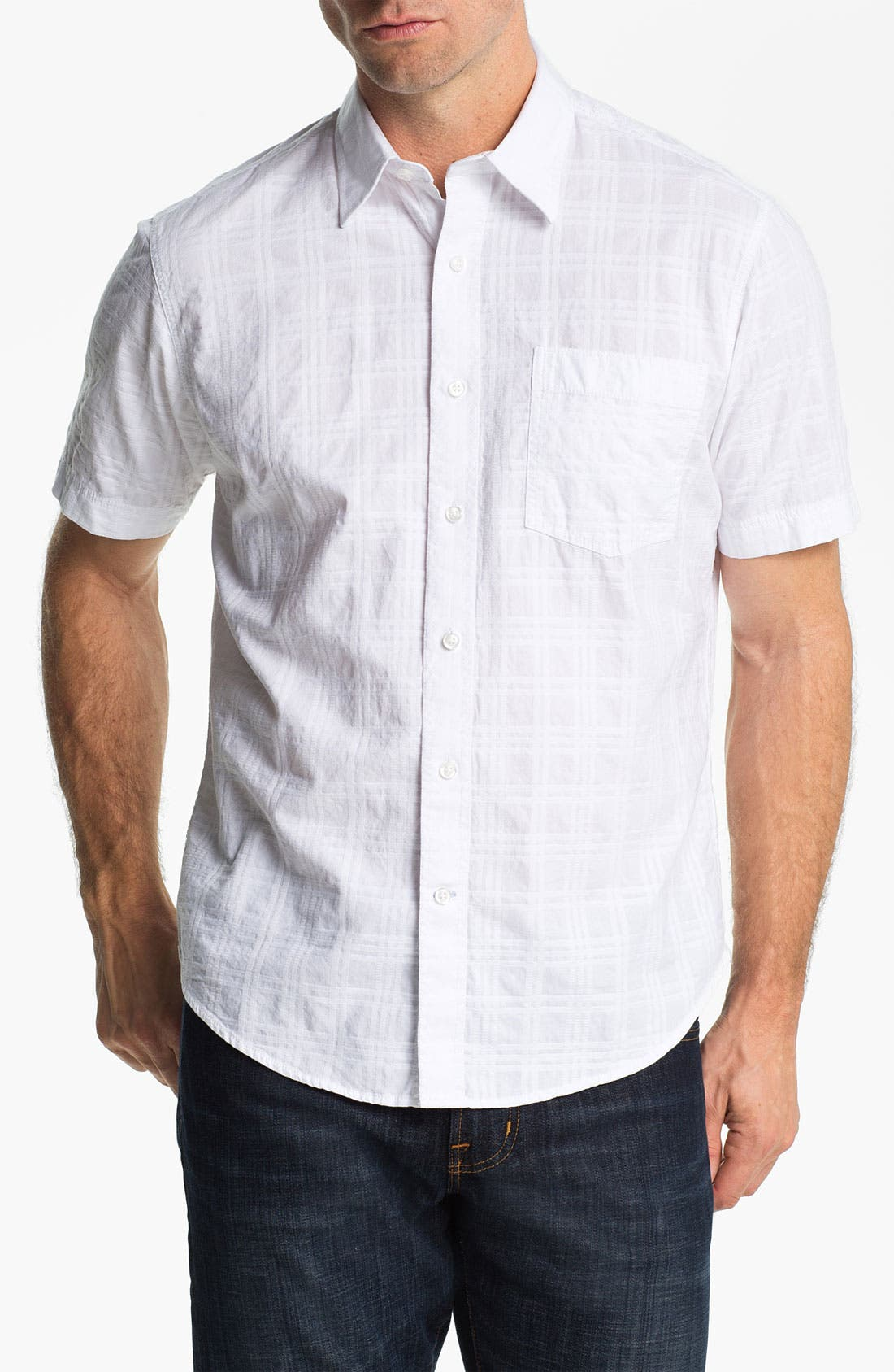 Alternate Image 1 Selected - James Campbell 'Vonn Plaid' Sport Shirt