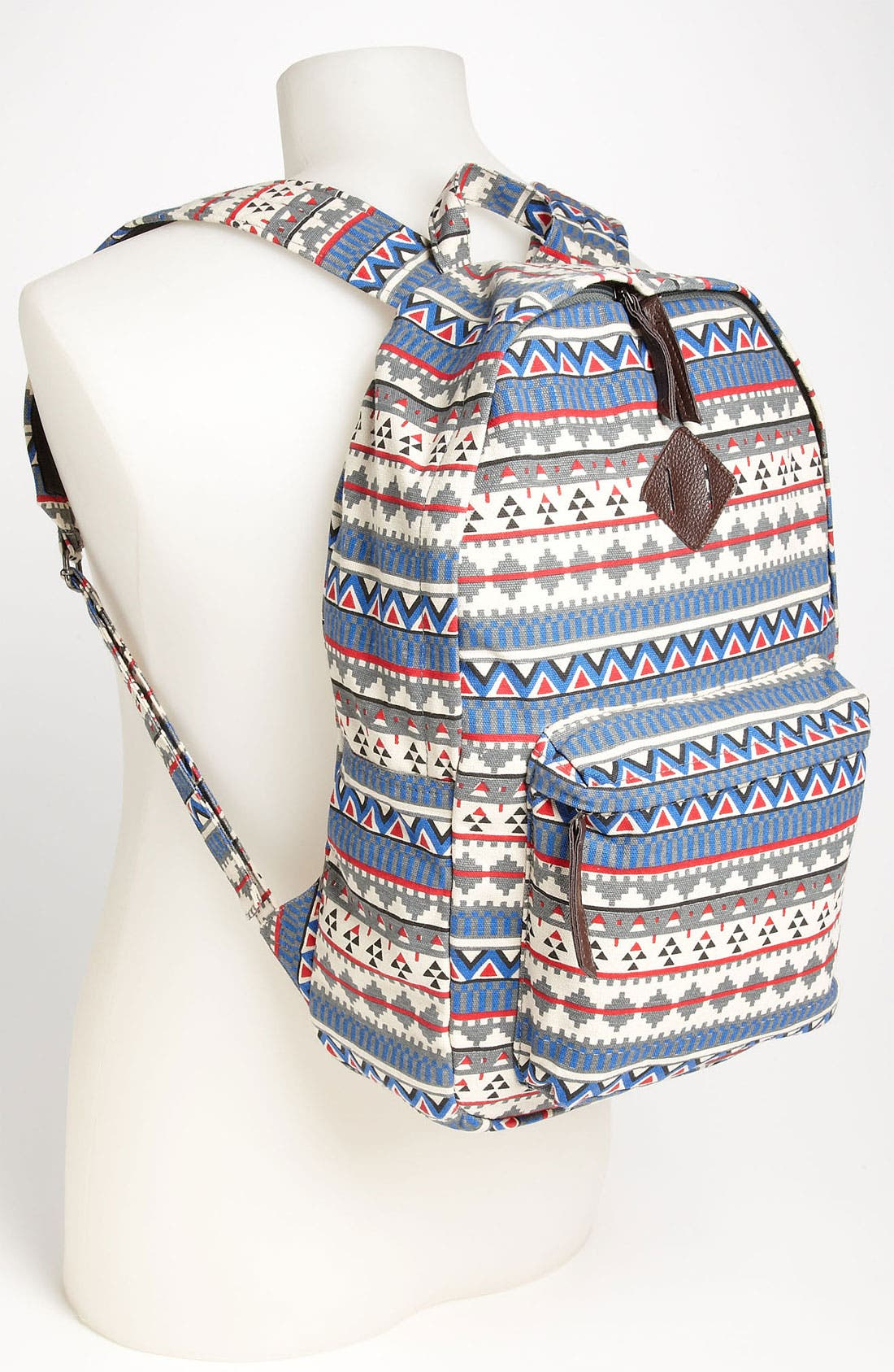 Alternate Image 4  - Topman Print Backpack
