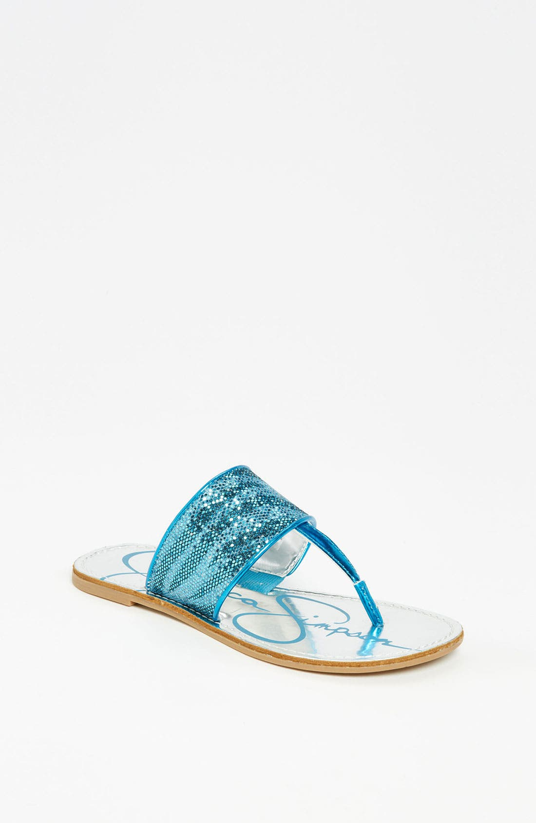 Alternate Image 1 Selected - Jessica Simpson 'Millie' Sandal (Toddler, Little Kid & Big Kid)