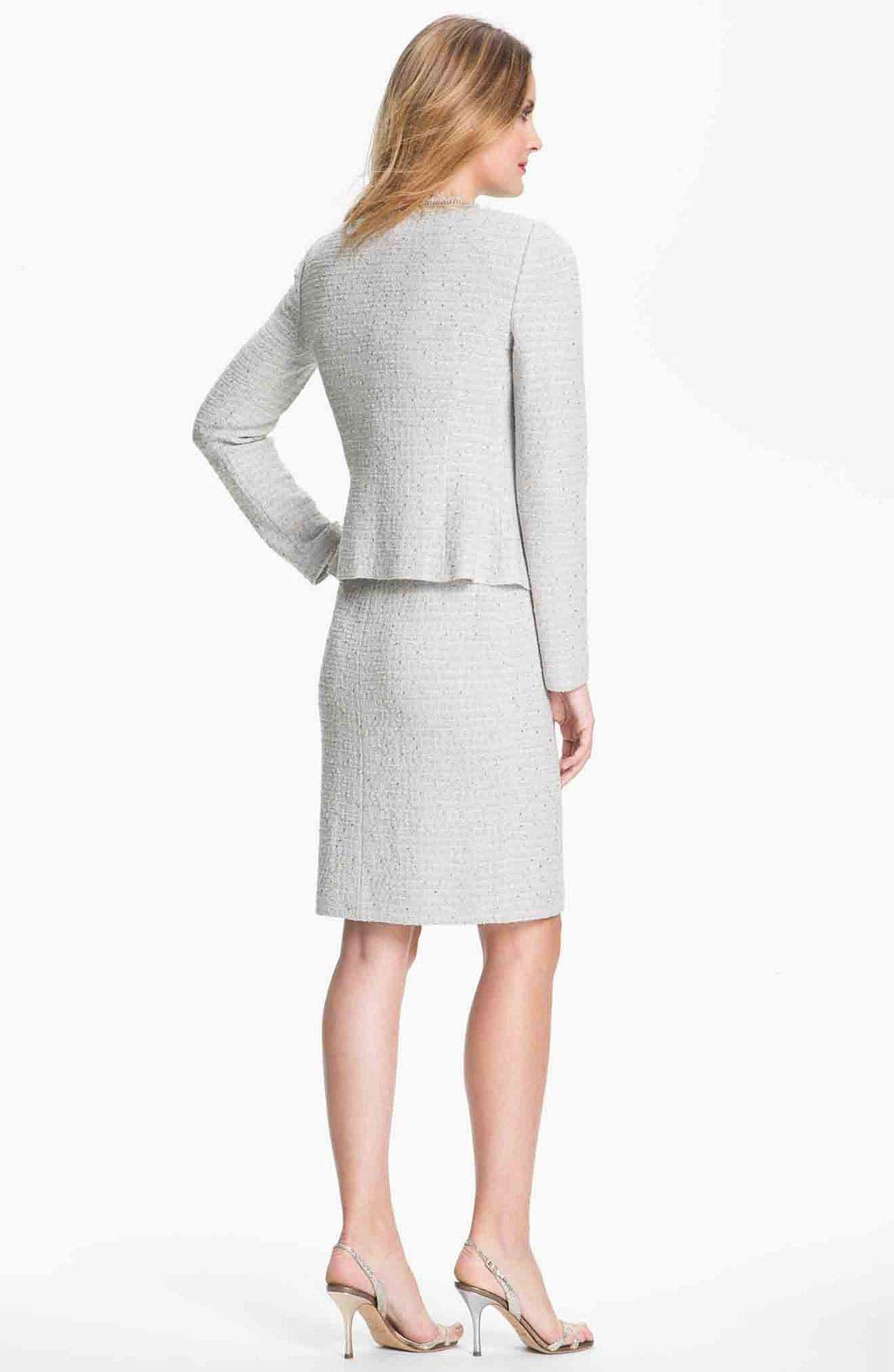 Alternate Image 4  - St. John Collection Sequin Ice Tweed Knit Jacket