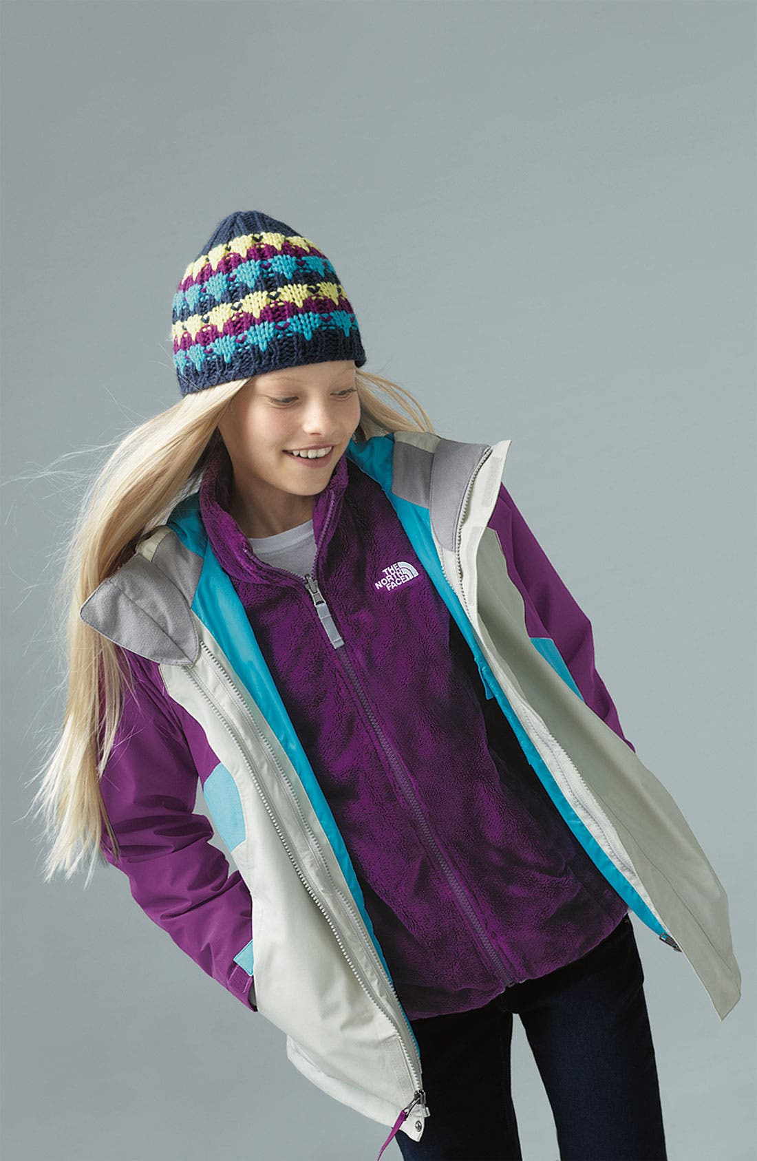 Alternate Image 3  - The North Face 'Fallon' TriClimate® 3-in-1 Jacket (Big Girls)