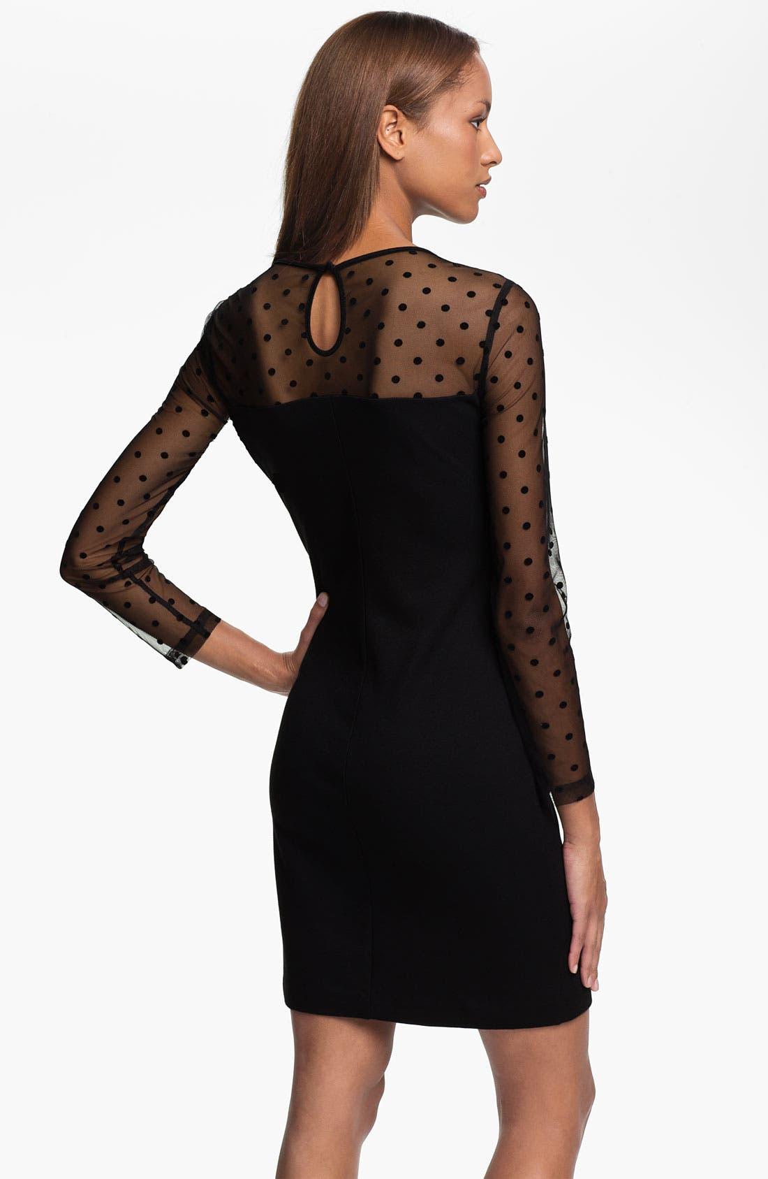 Alternate Image 2  - Vince Camuto Dot Illusion Dress (Online Exclusive)