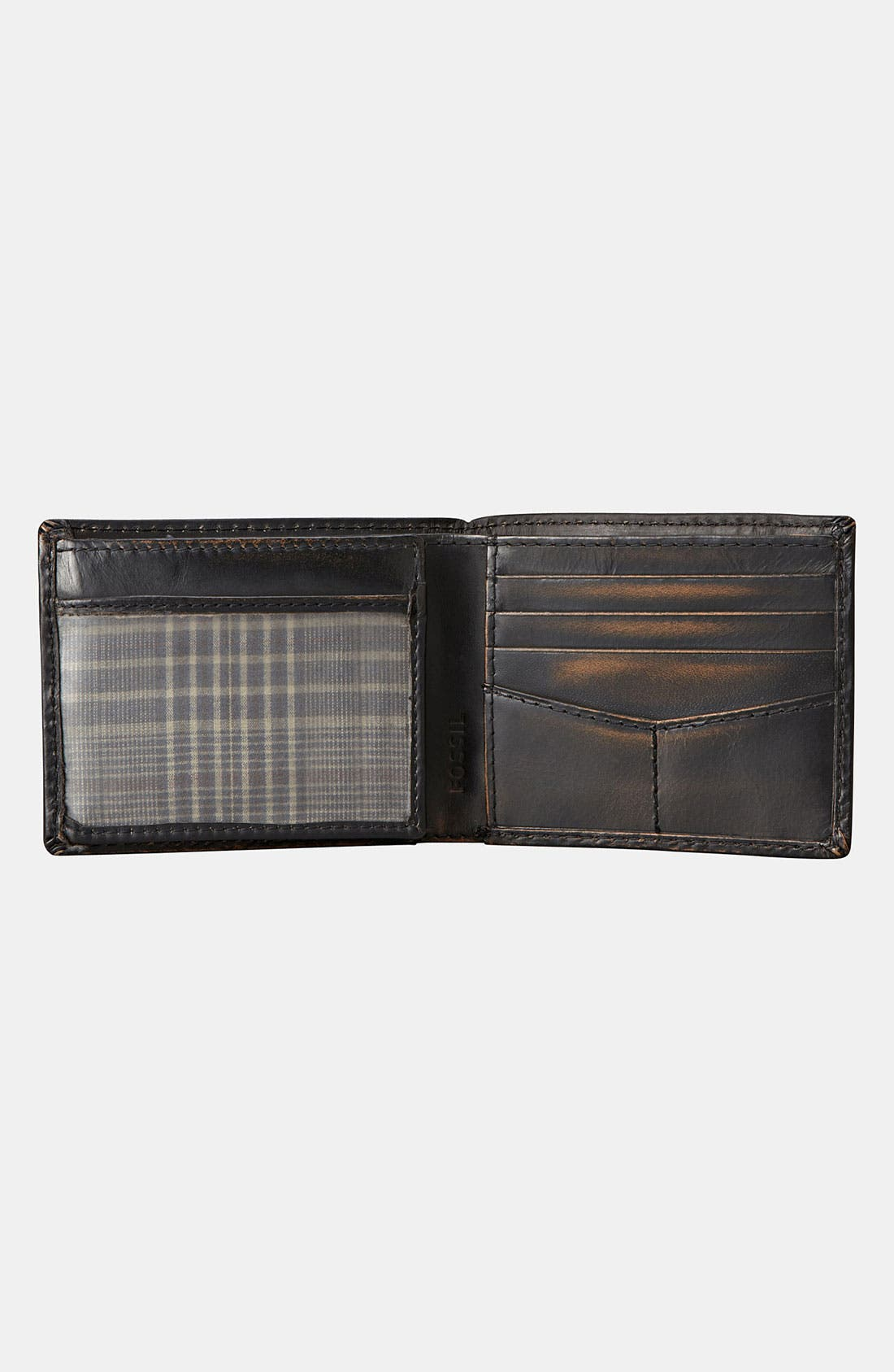 Alternate Image 2  - Fossil 'Carson' Traveler Wallet