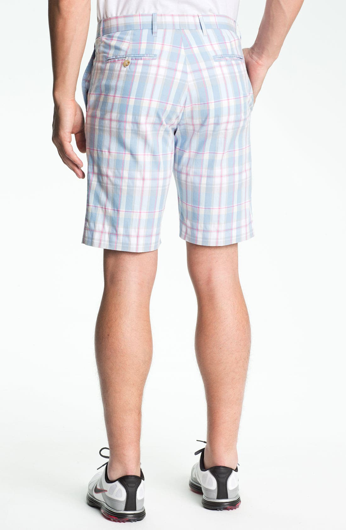 Alternate Image 2  - Bobby Jones Flat Front Golf Shorts