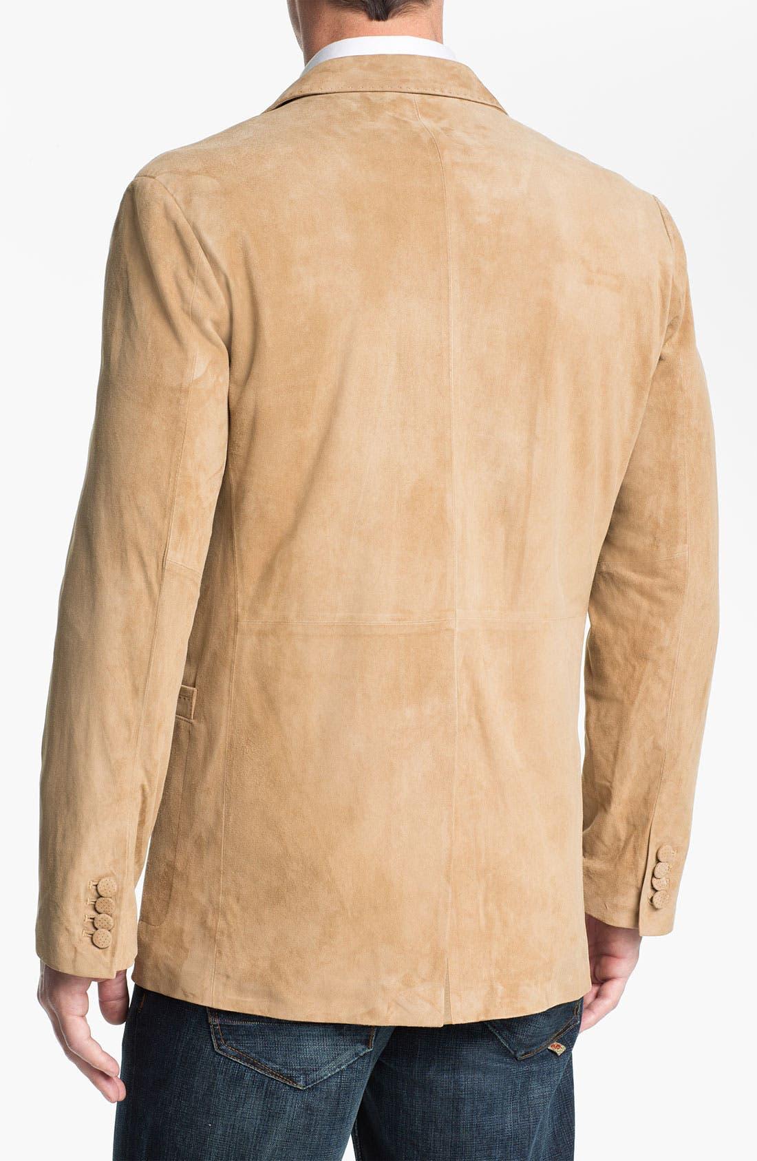 Alternate Image 2  - Robert Graham 'Wythe' Suede Sportcoat