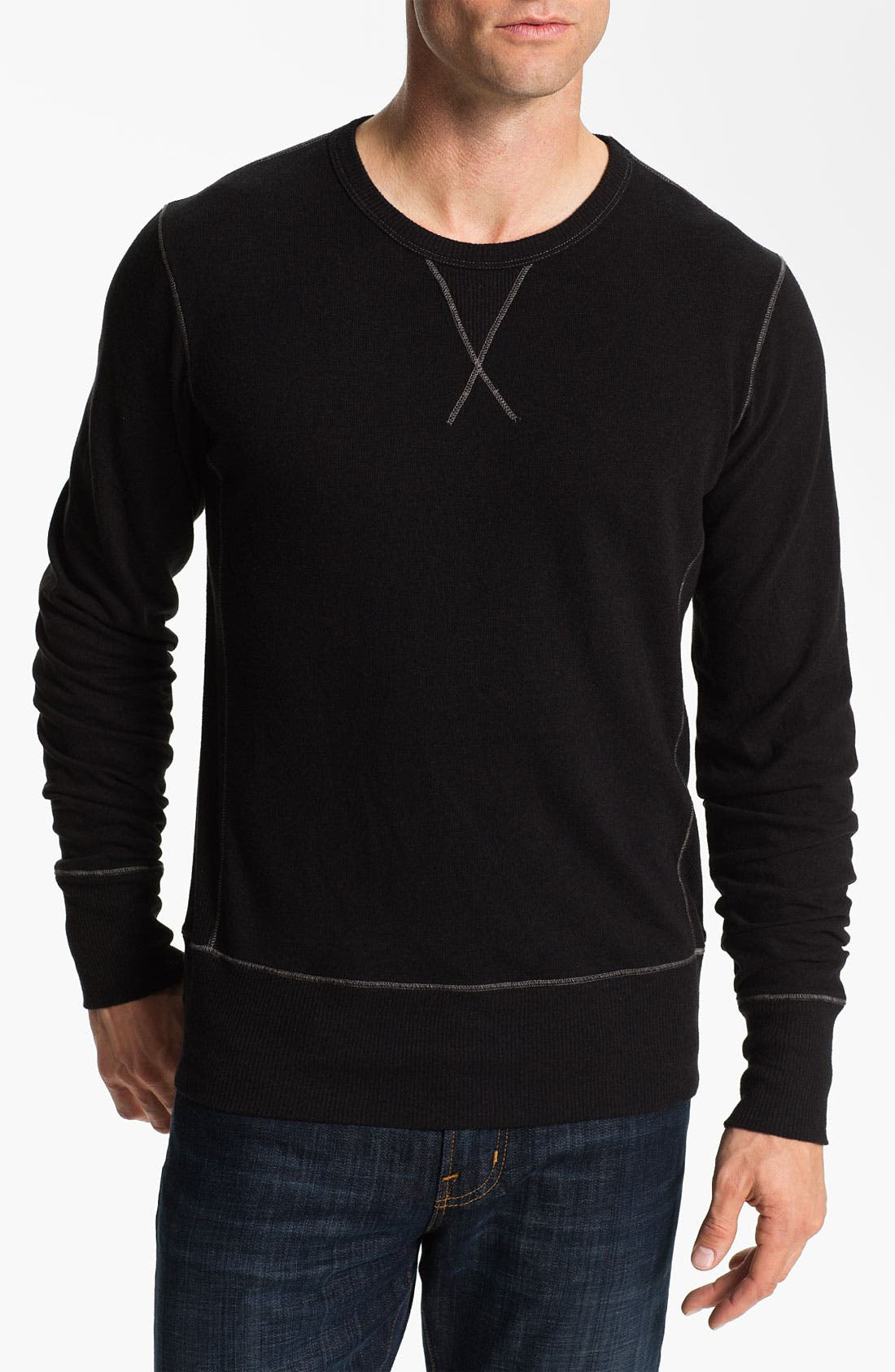 Main Image - AG Jeans Crewneck Pullover