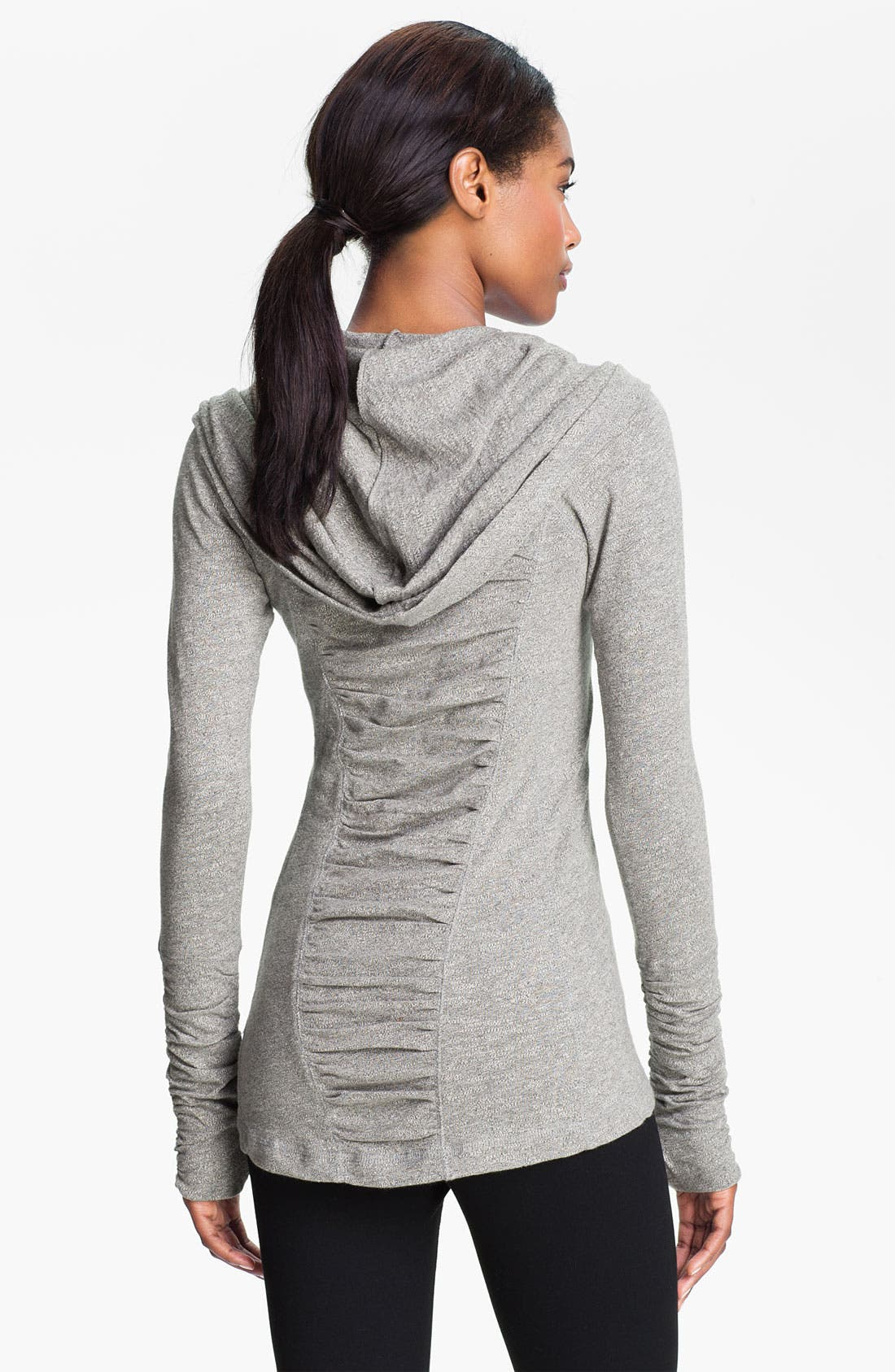 Alternate Image 1 Selected - Zella 'All Shirred Up' Pullover