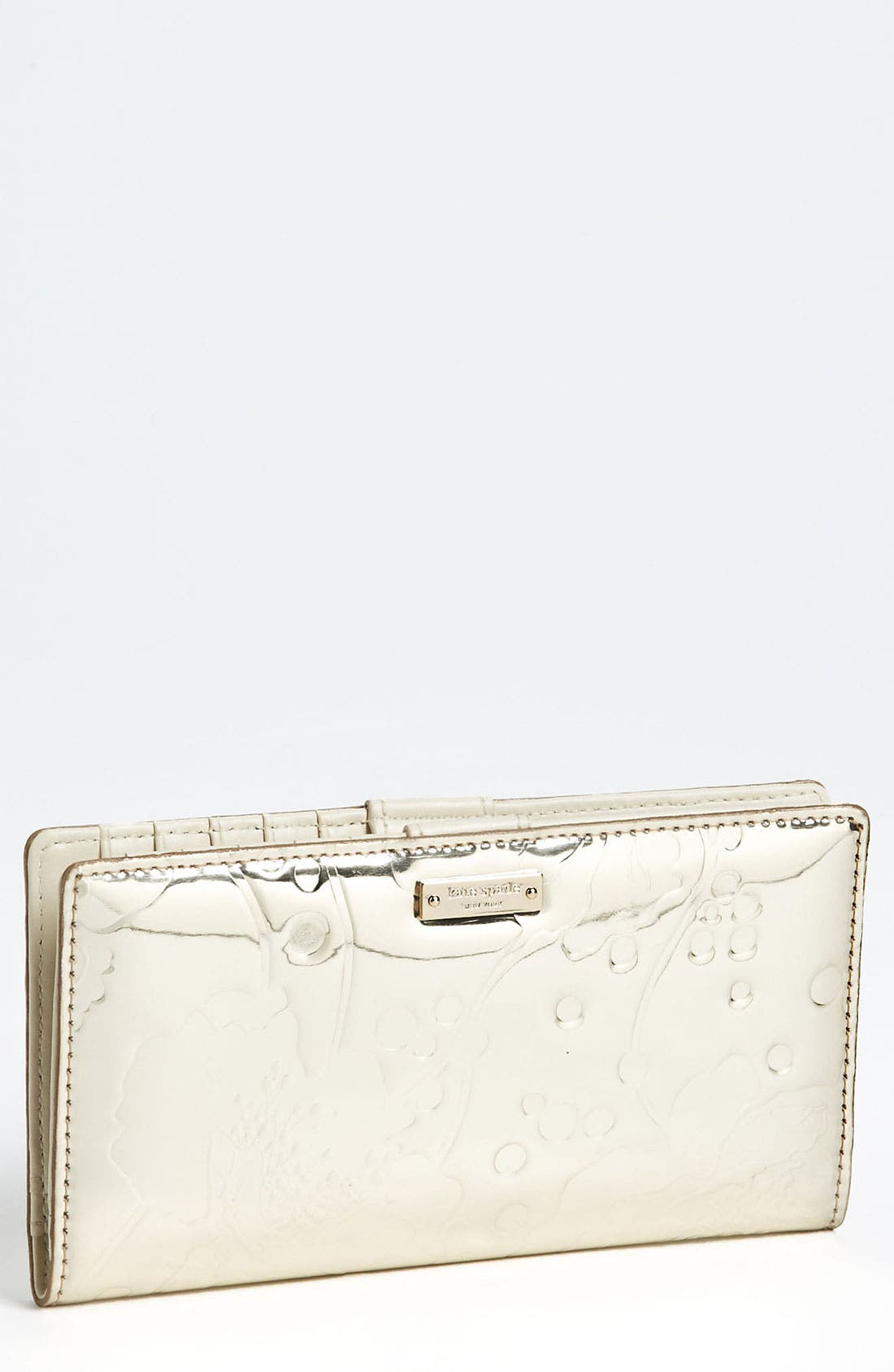 Main Image - kate spade new york 'spotted floral - stacy' wallet