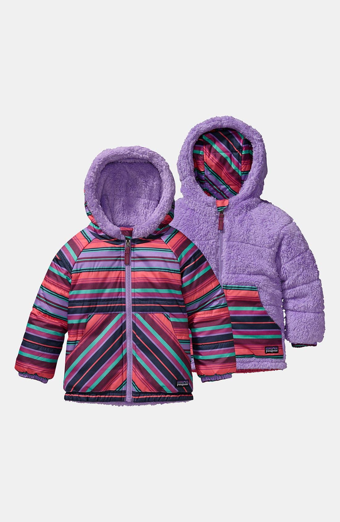 Alternate Image 1 Selected - Patagonia Reversible Jacket (Baby Girls)