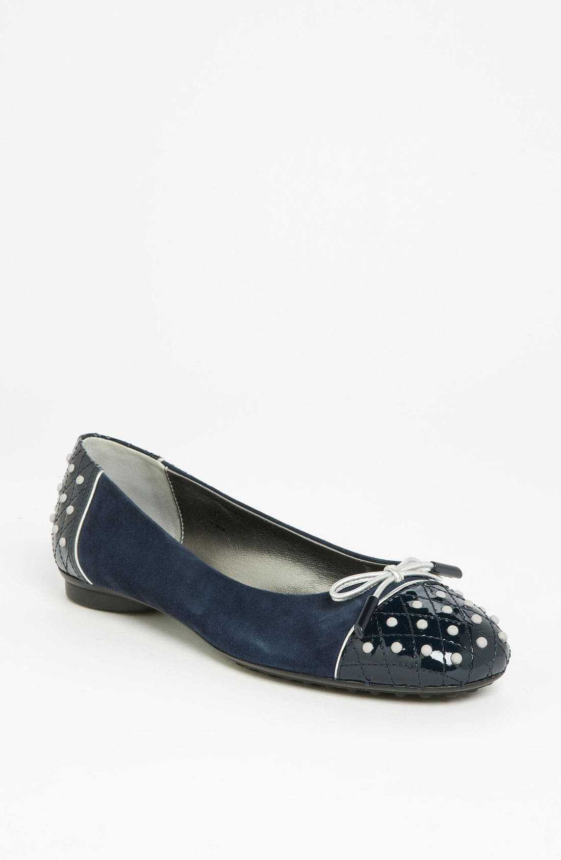 Alternate Image 1 Selected - Tod's 'Ballerina Gommini' Flat
