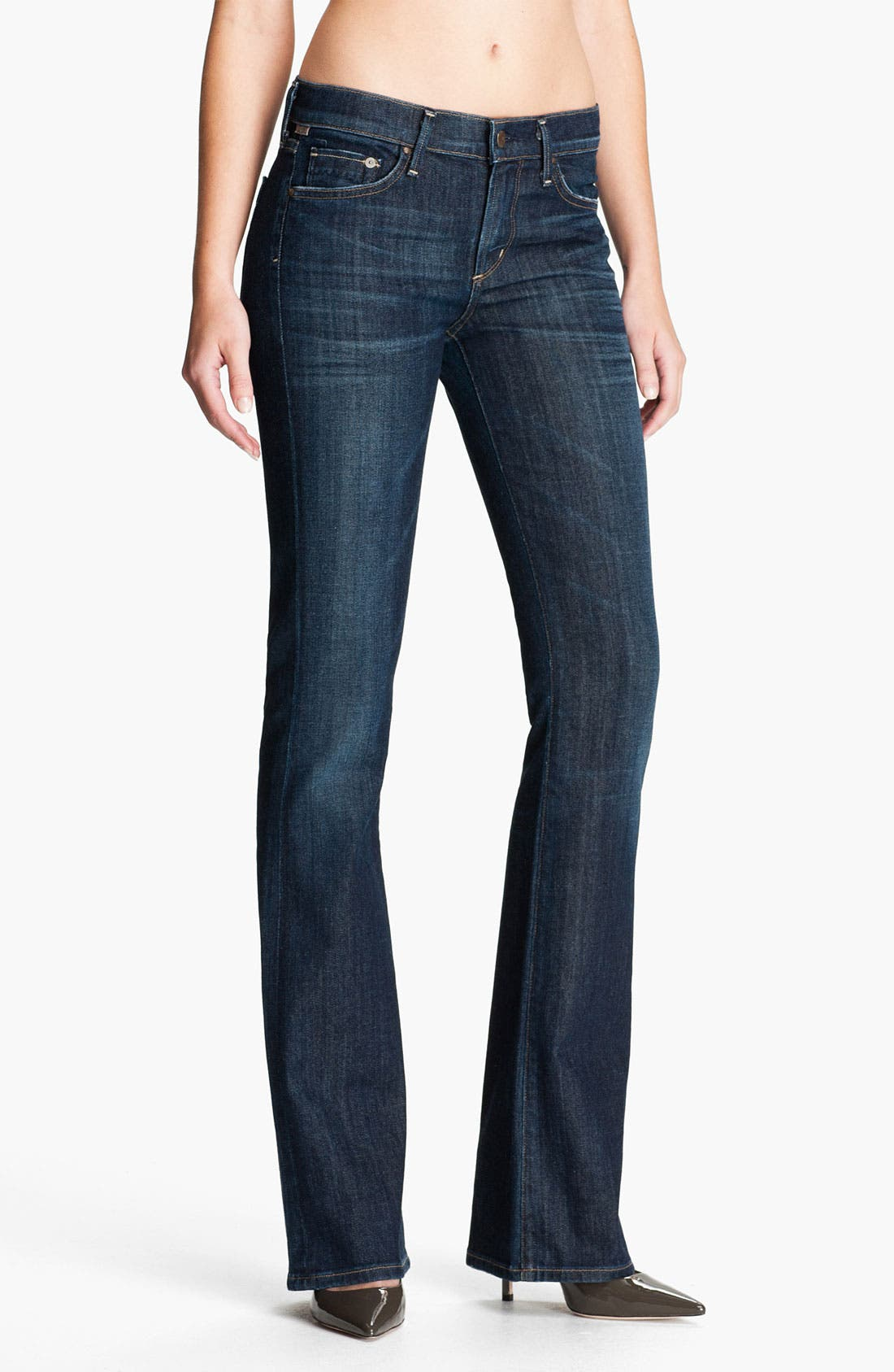 Alternate Image 1 Selected - Citizens of Humanity 'Amber' Bootcut Jeans (Galaxy)