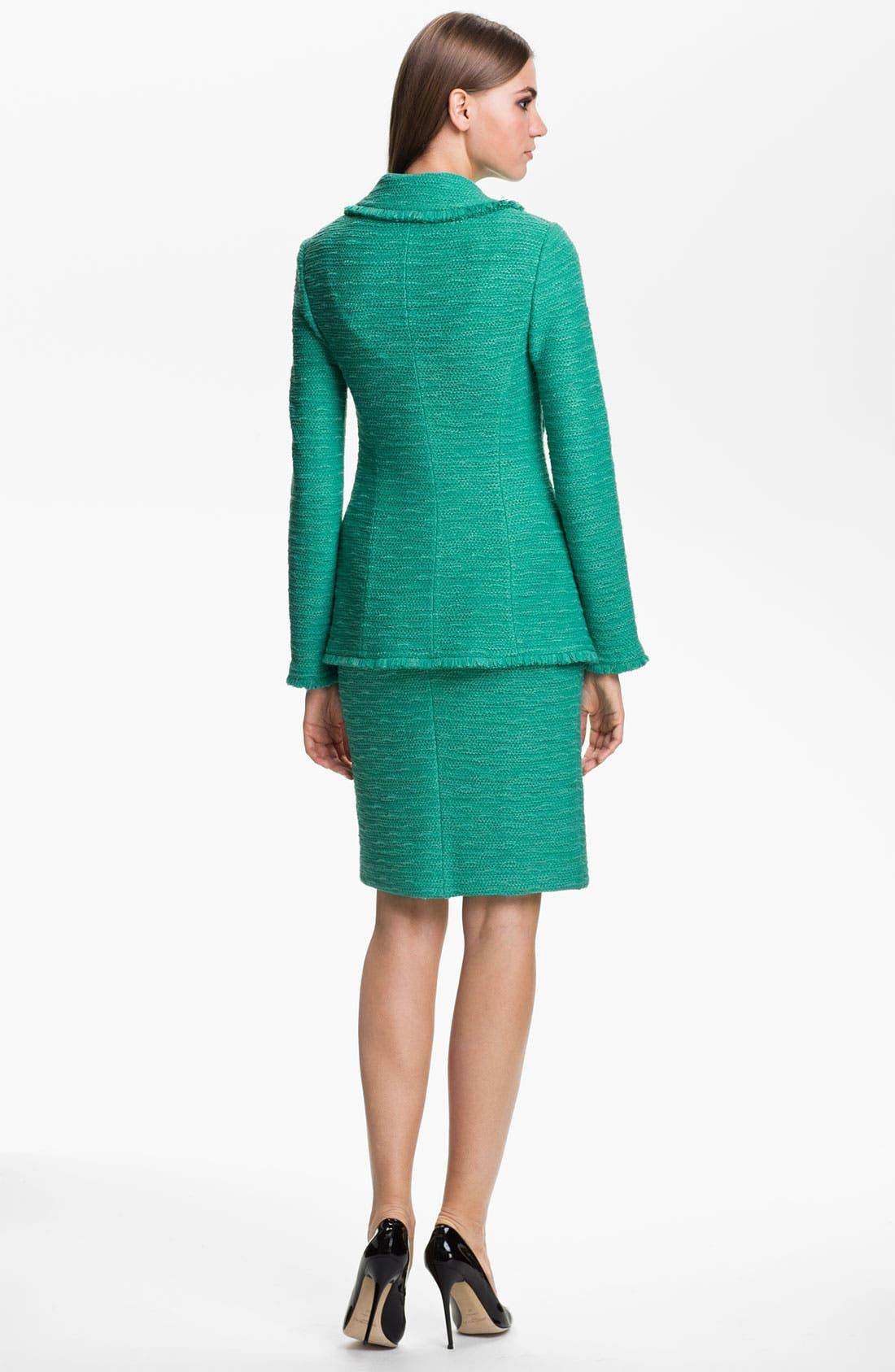 Alternate Image 4  - St. John Collection 'New Shantung' Sheath Dress