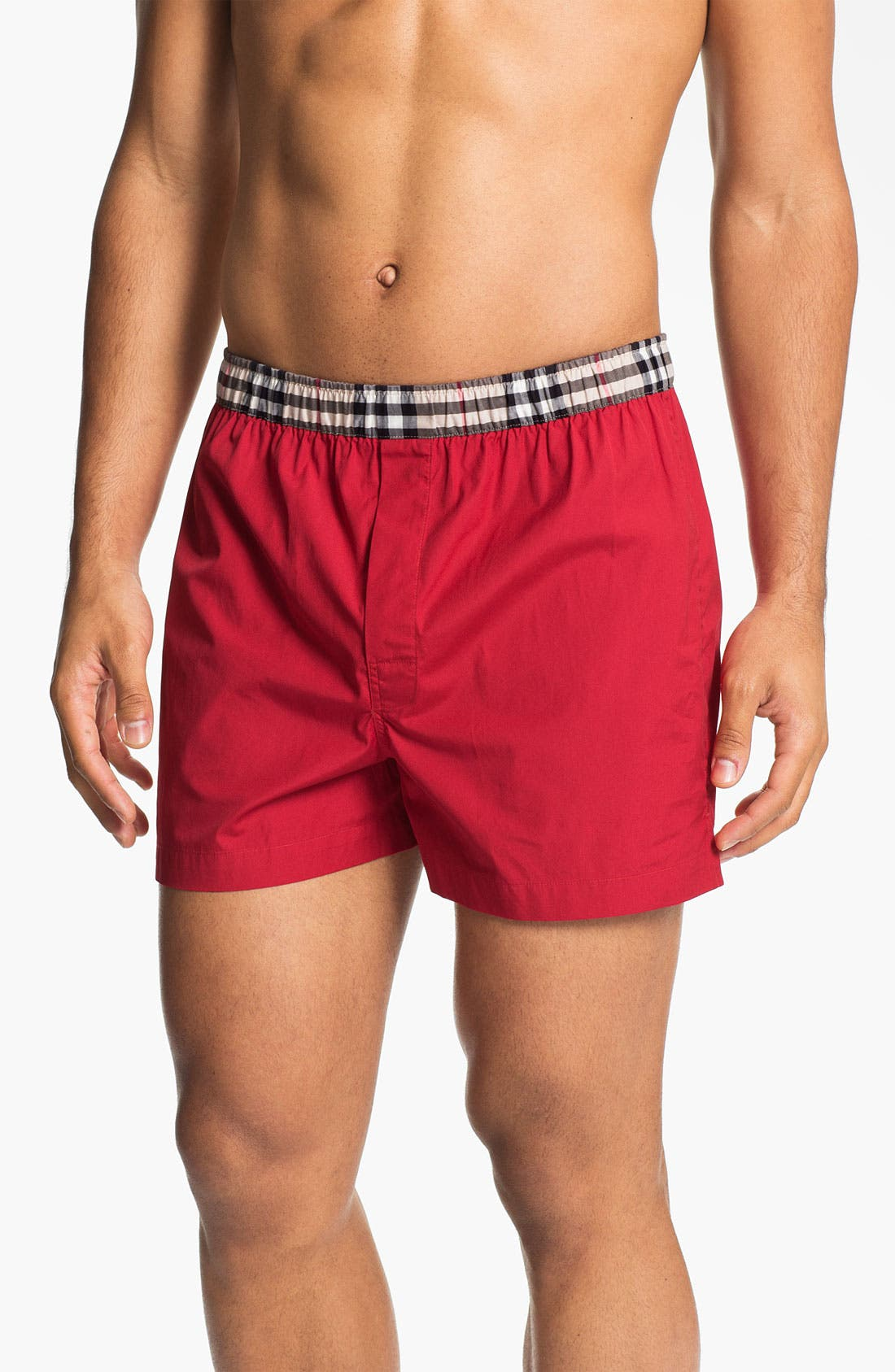 Alternate Image 3  - Burberry Cotton Boxers (Assorted 3-Pack)