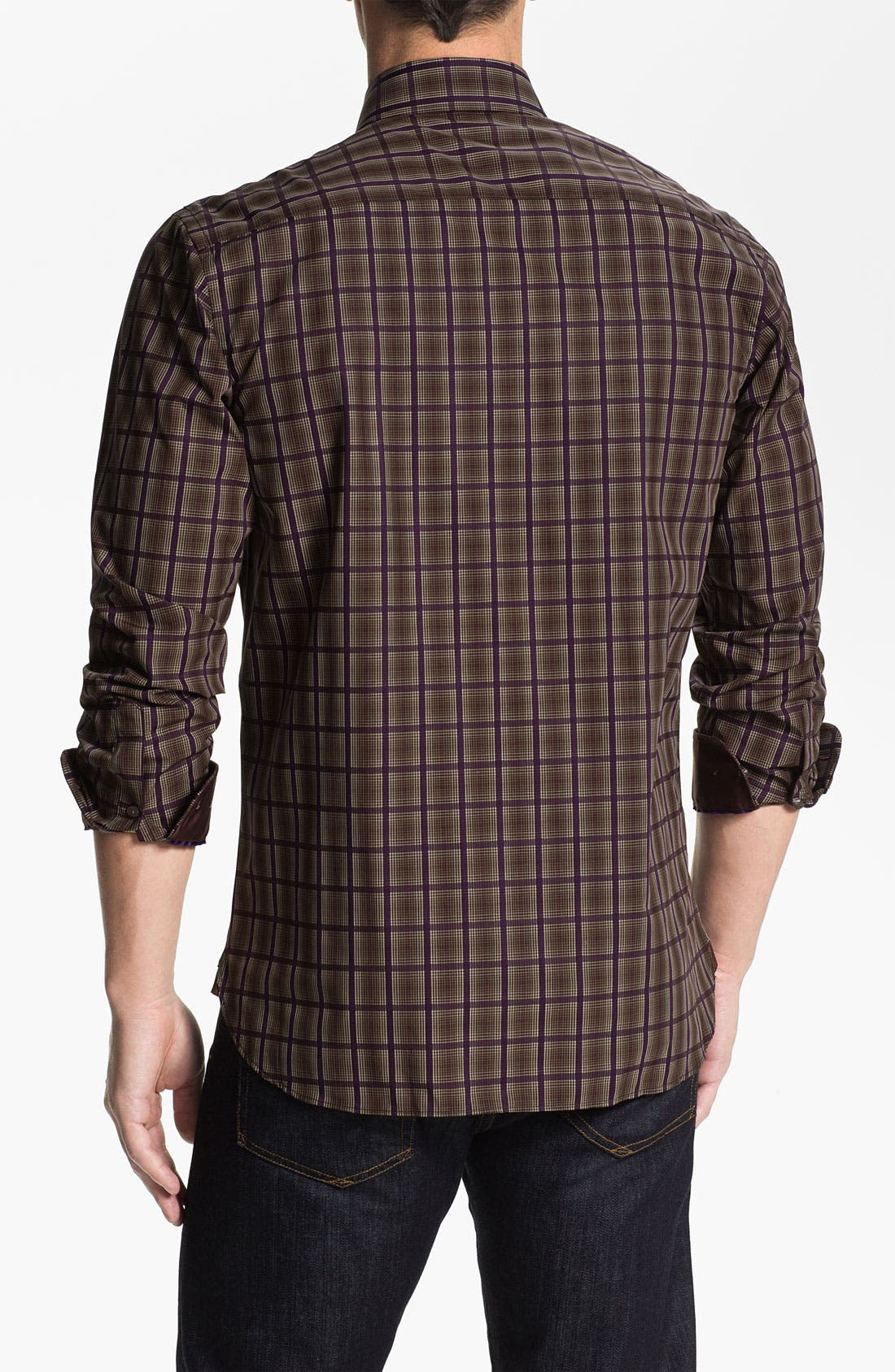 Alternate Image 2  - Report Collection Cotton Sateen Sport Shirt (Online Exclusive)