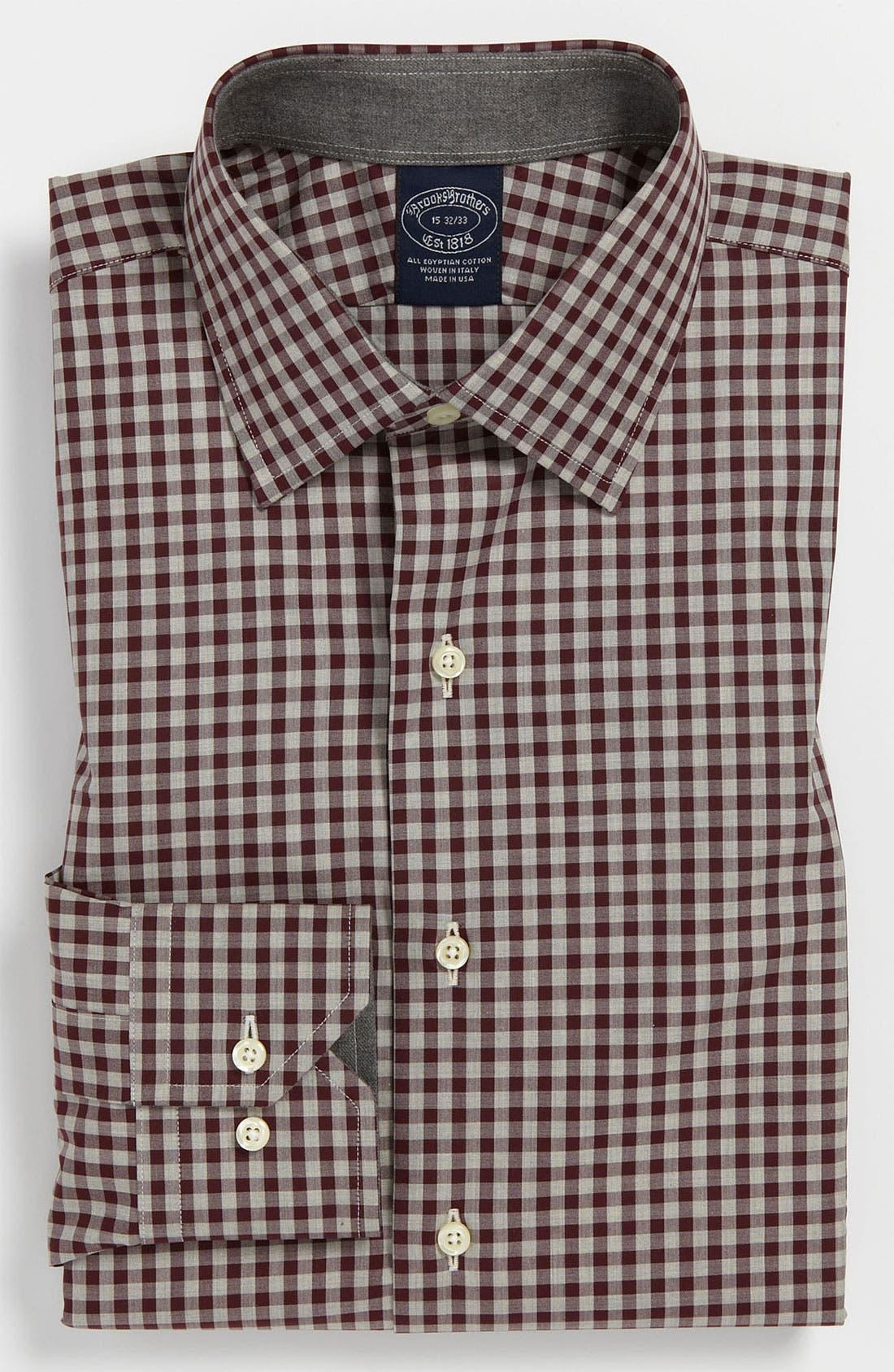 Alternate Image 1 Selected - Brooks Brothers Regular Fit Dress Shirt