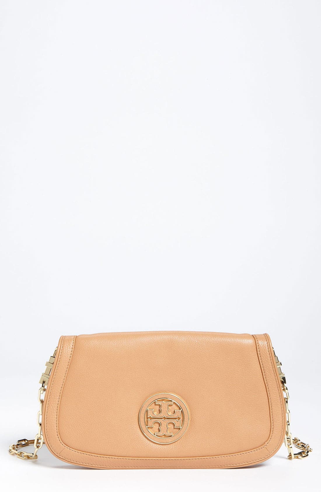 Main Image - Tory Burch 'Amanda - Angelux Logo' Clutch
