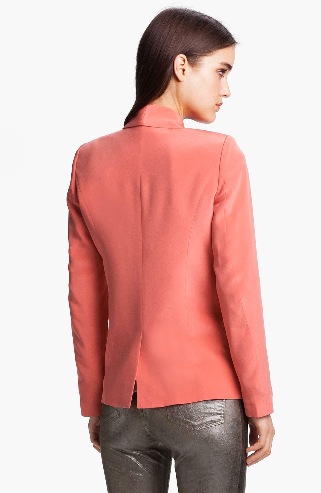 Alternate Image 2  - Truth and Pride Shawl Collar Silk Blazer