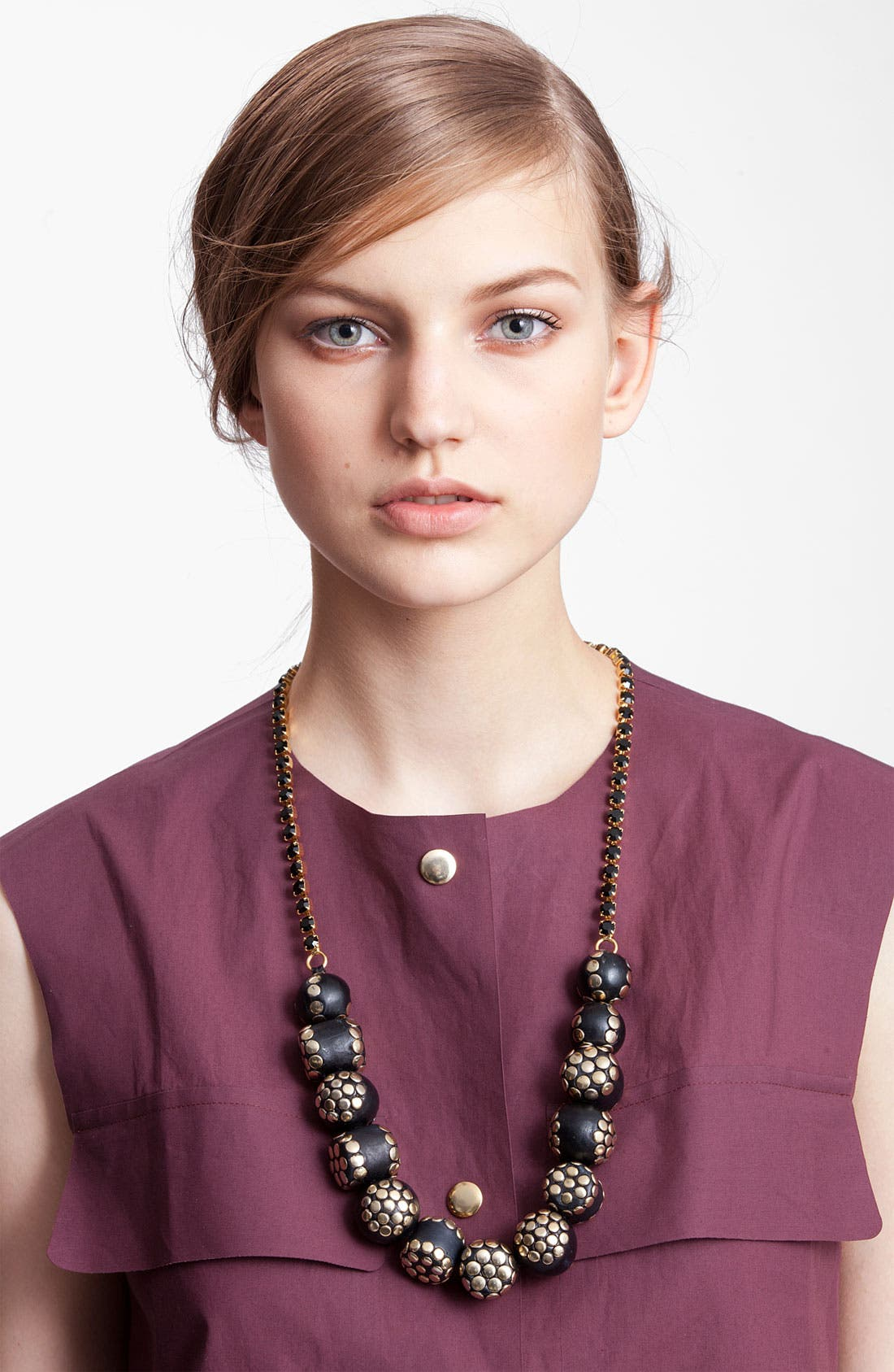 Alternate Image 1 Selected - Marni Edition Resin & Glass Stone Necklace