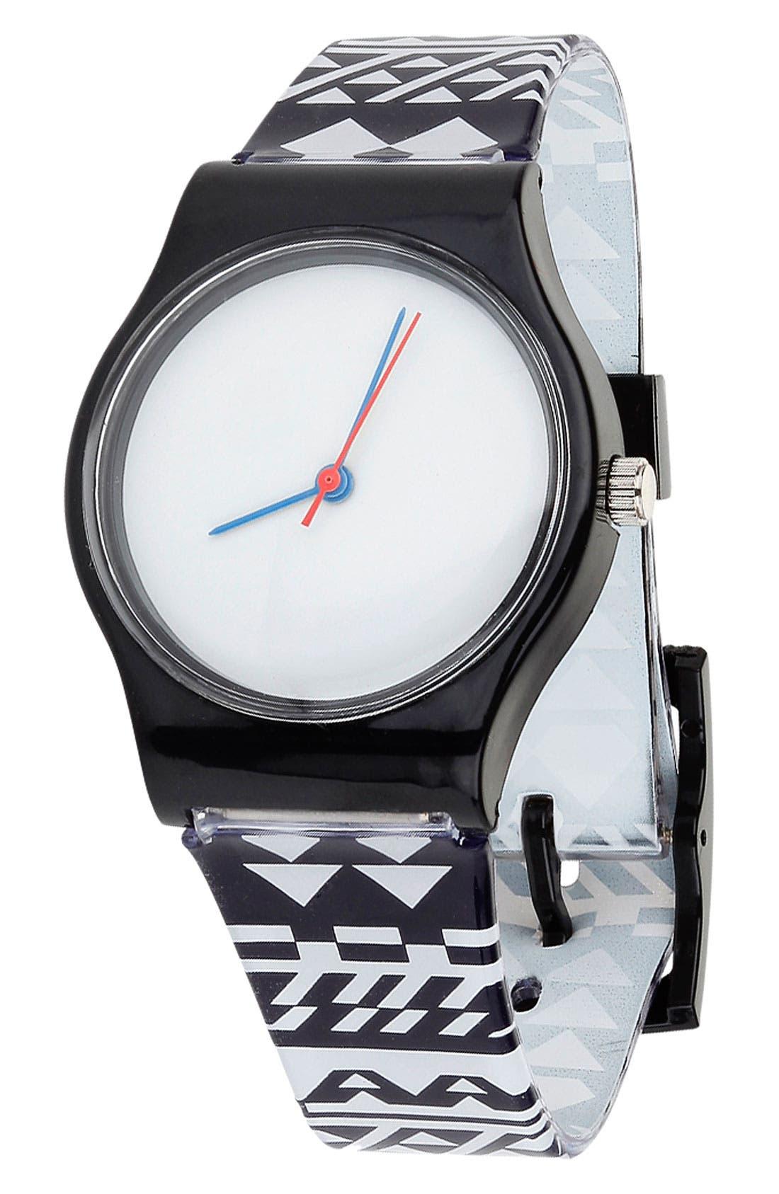 Alternate Image 1 Selected - Topman Aztec Print Watch