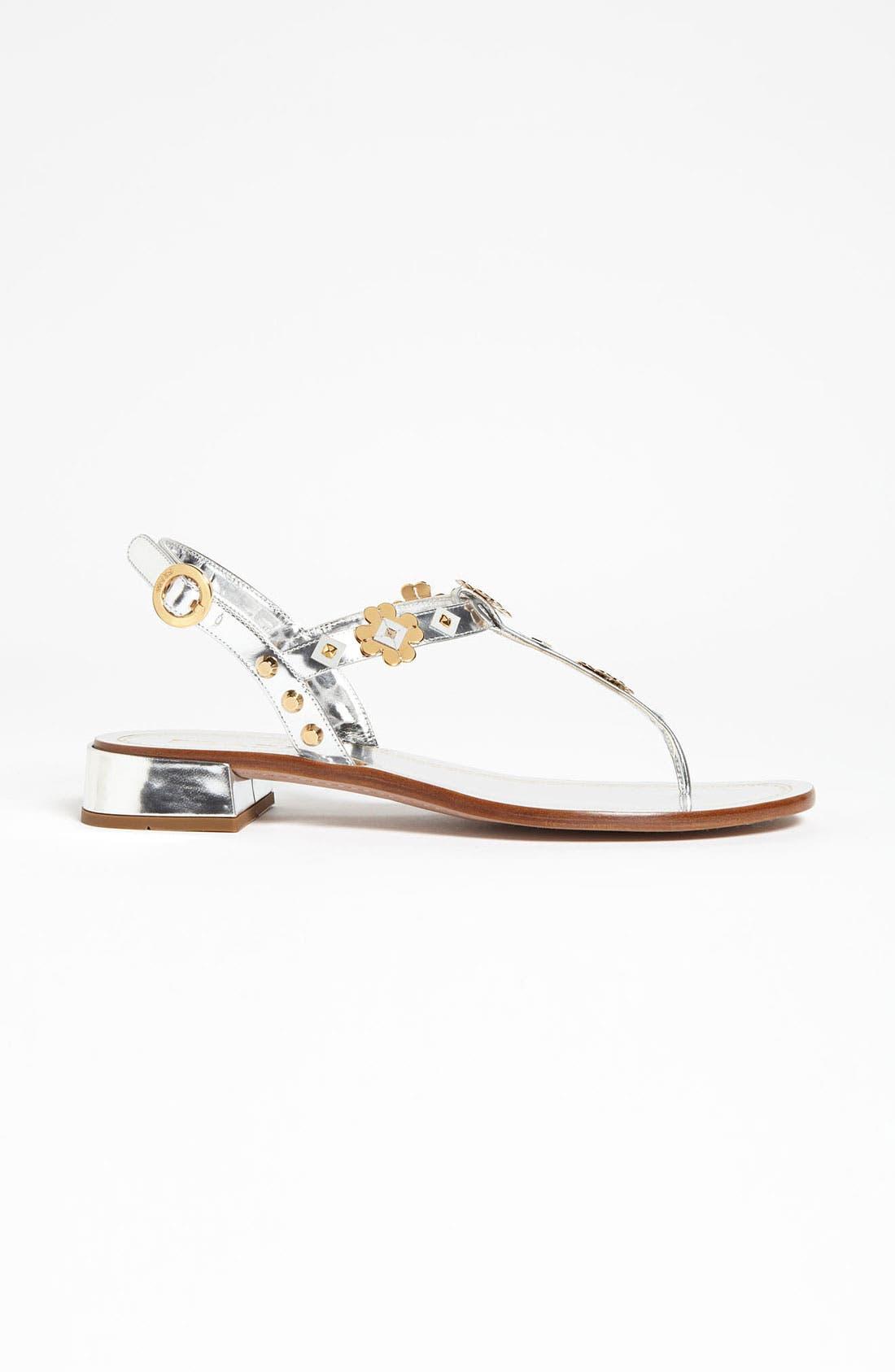 Alternate Image 4  - Prada Appliqué Thong Sandal