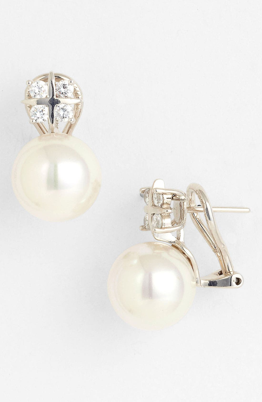Alternate Image 1 Selected - Majorica 12mm Pearl Stud Earrings