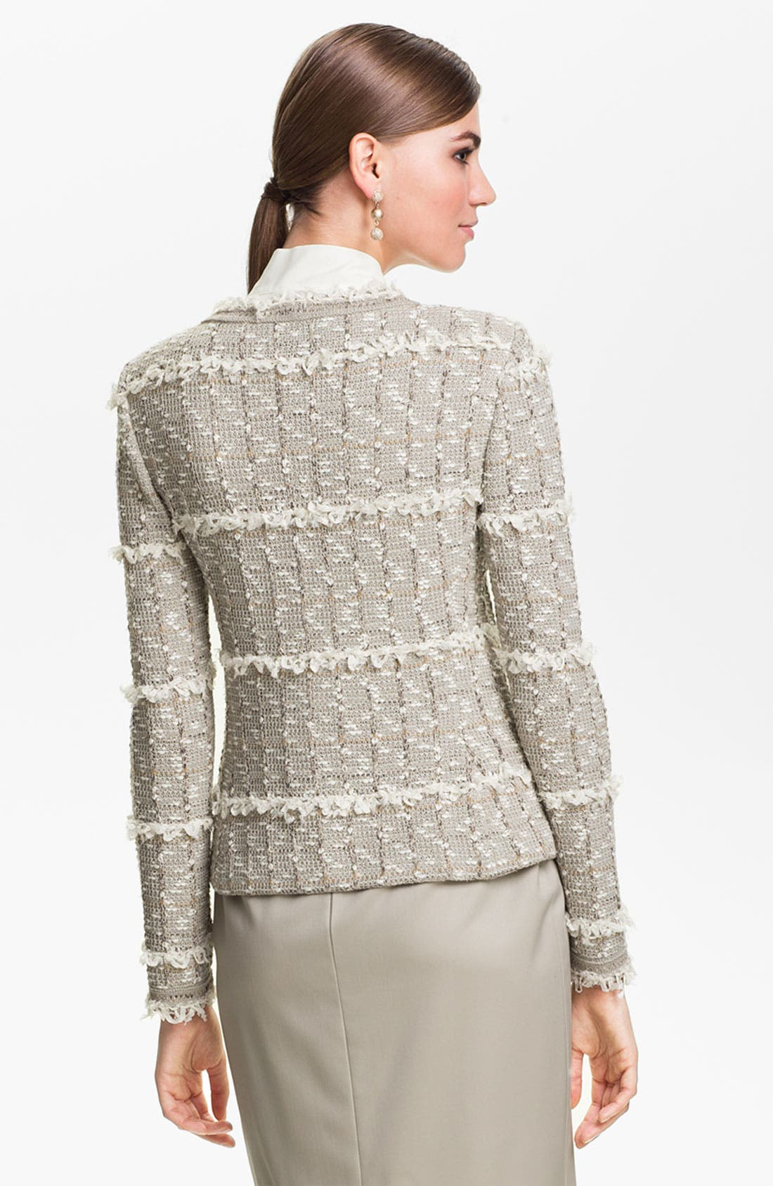 Alternate Image 4  - St. John Collection Positano Tweed Knit Jacket