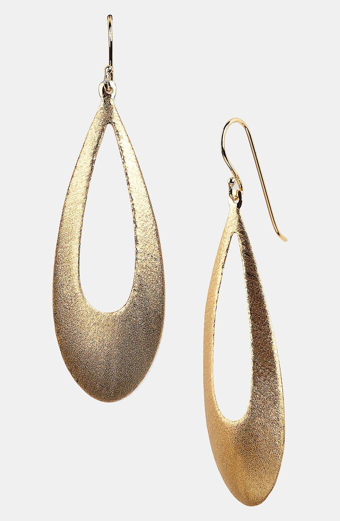 Alternate Image 1 Selected - Argento Vivo Open Teardrop Earrings (Nordstrom Exclusive)